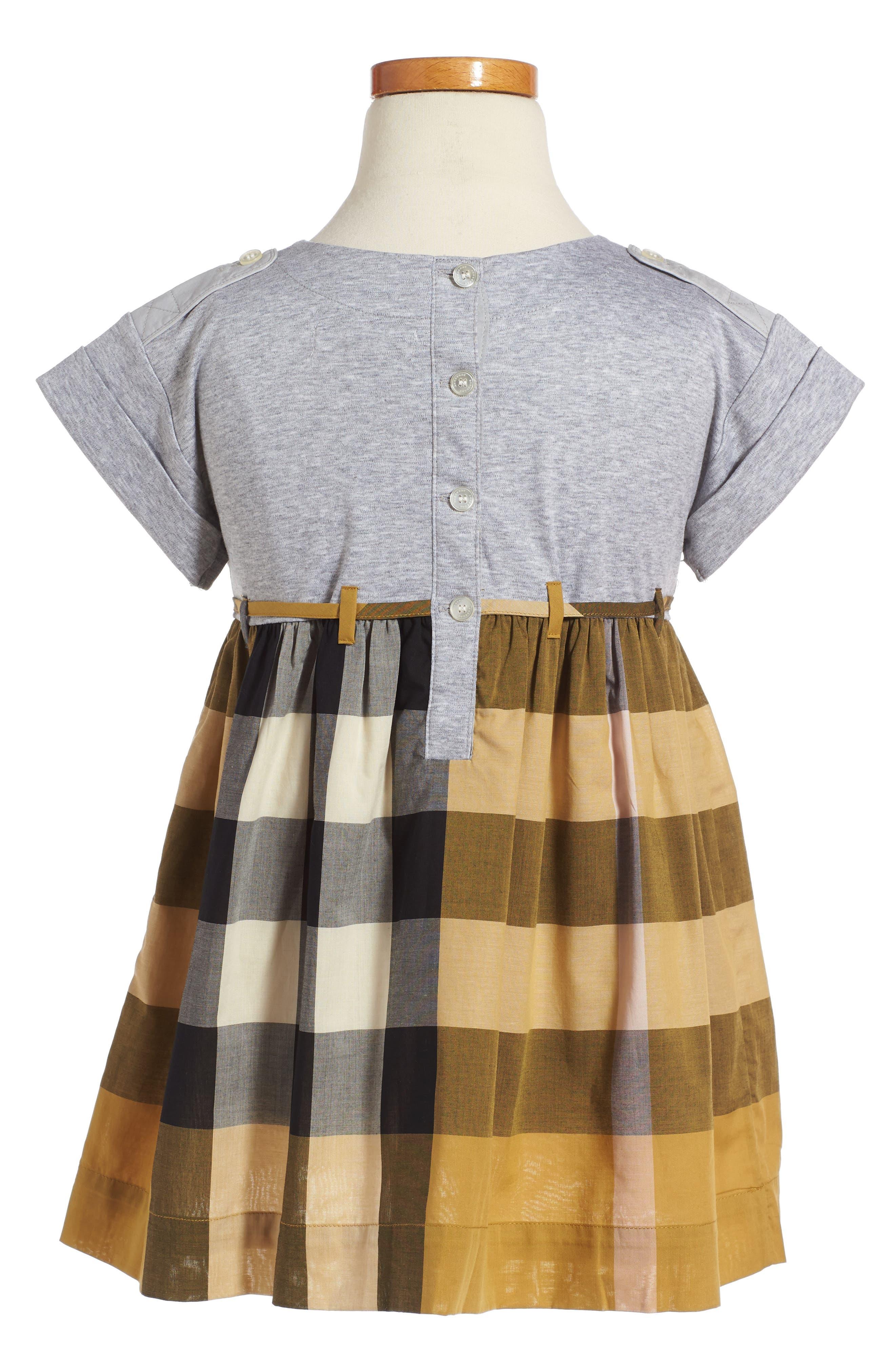 Rhonda Check Dress,                             Alternate thumbnail 2, color,                             704