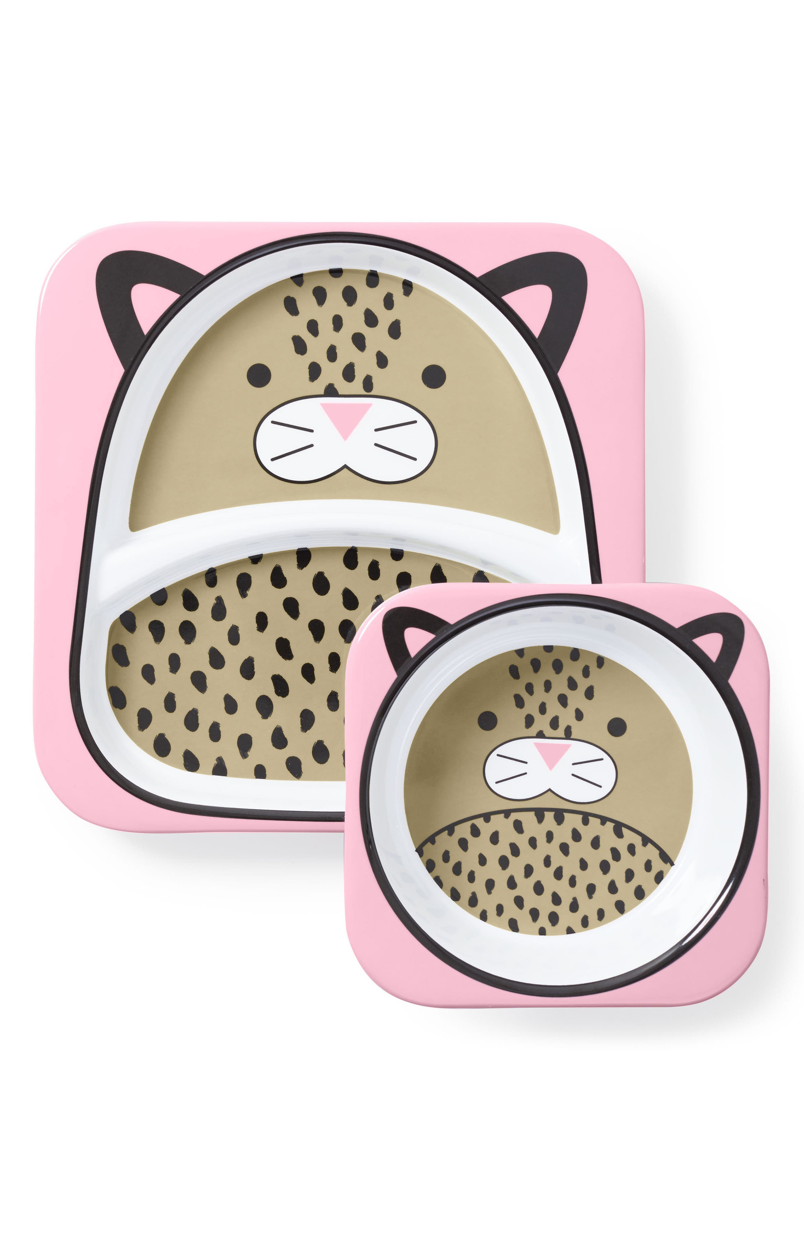 Infant Girls Skip Hop Zoo Melamine Plate  Bowl Set Size One Size  Pink