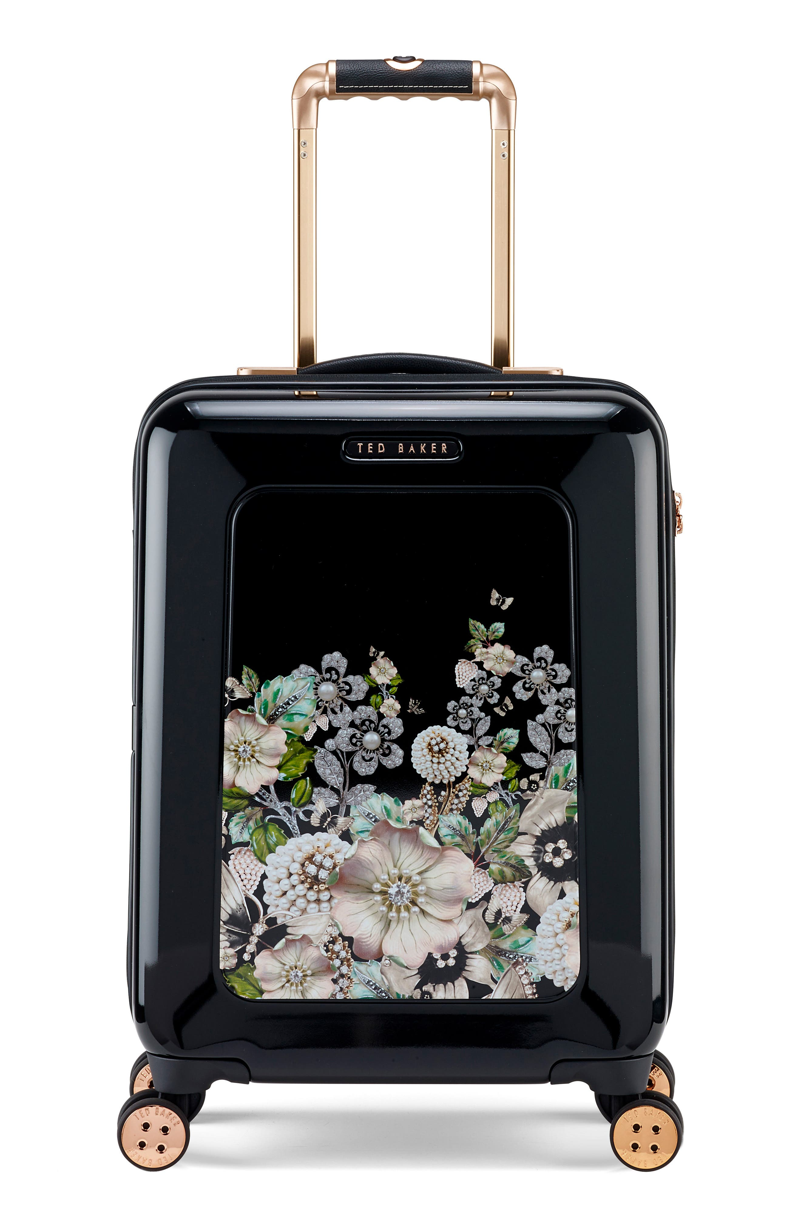 Small 21-Inch Four-Wheel Suitcase,                         Main,                         color, 001