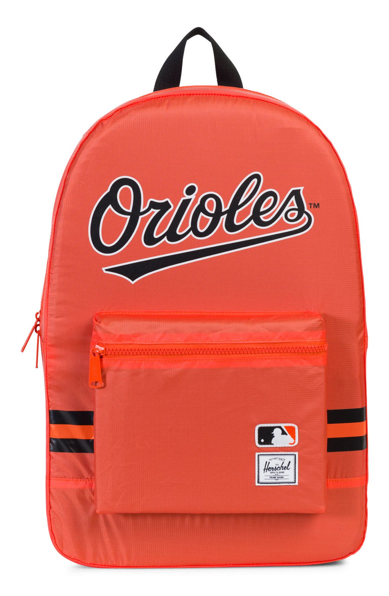 Packable - MLB American League Backpack,                             Main thumbnail 1, color,                             BALTIMORE ORIOLES