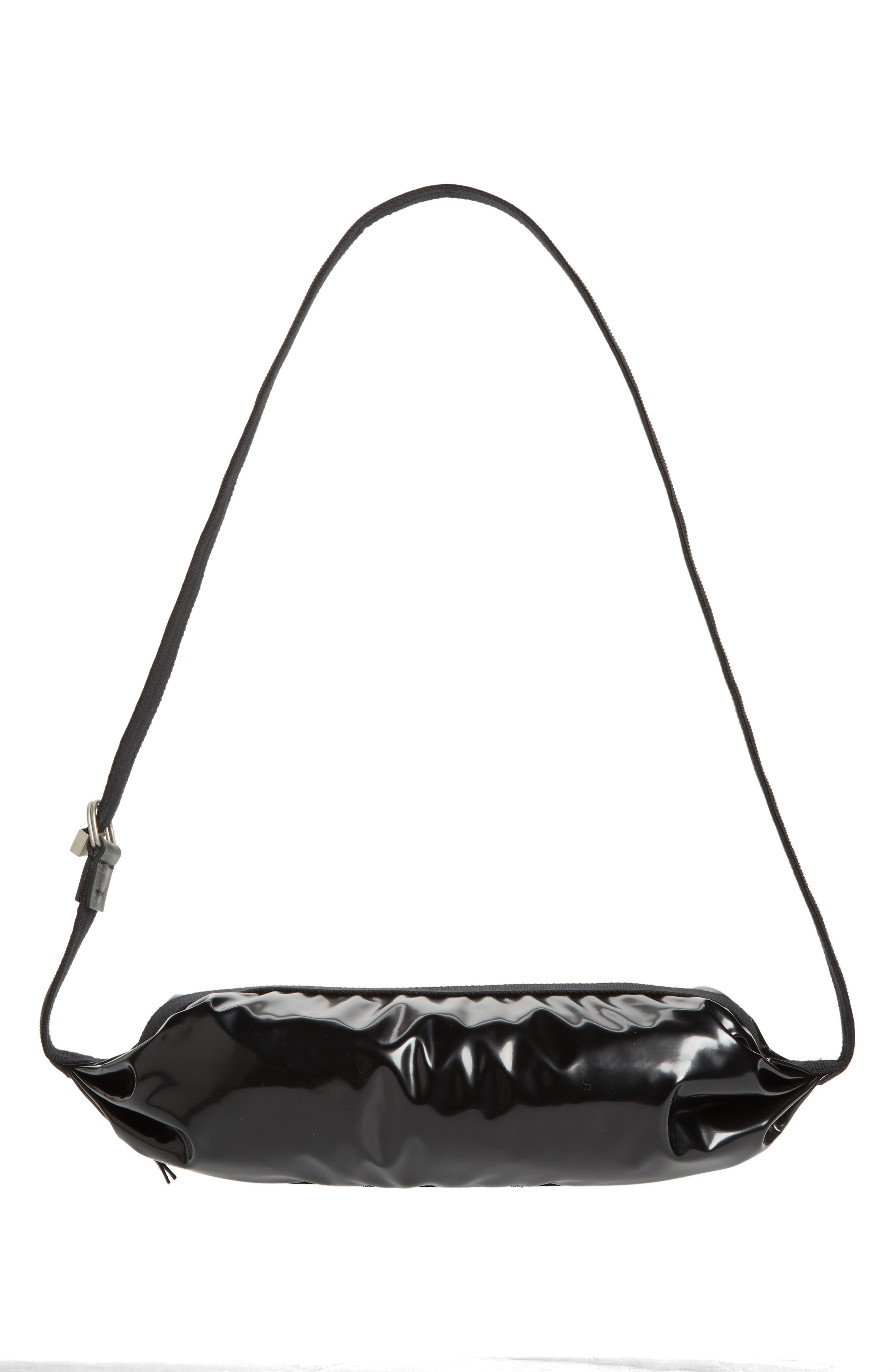 Patent Leather Hip Pack,                             Alternate thumbnail 6, color,                             001