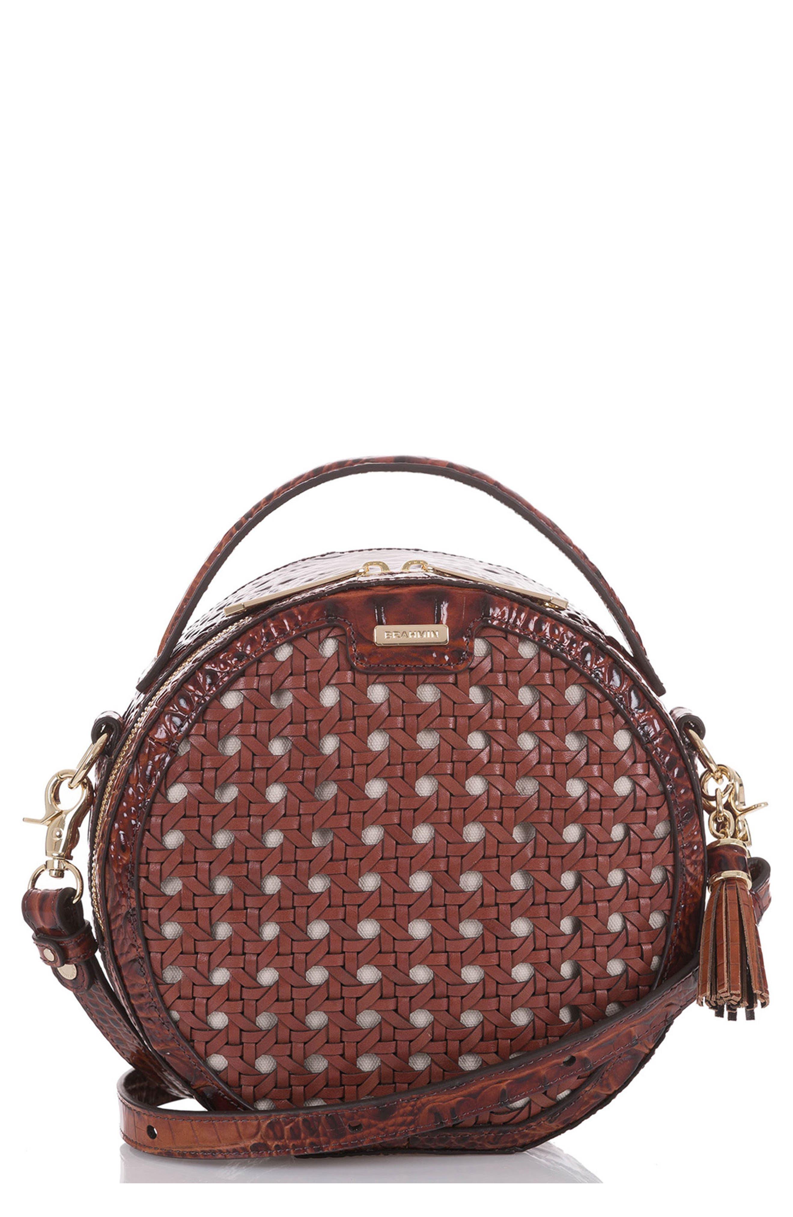 Lane Croc Embossed Leather Crossbody Bag,                         Main,                         color,