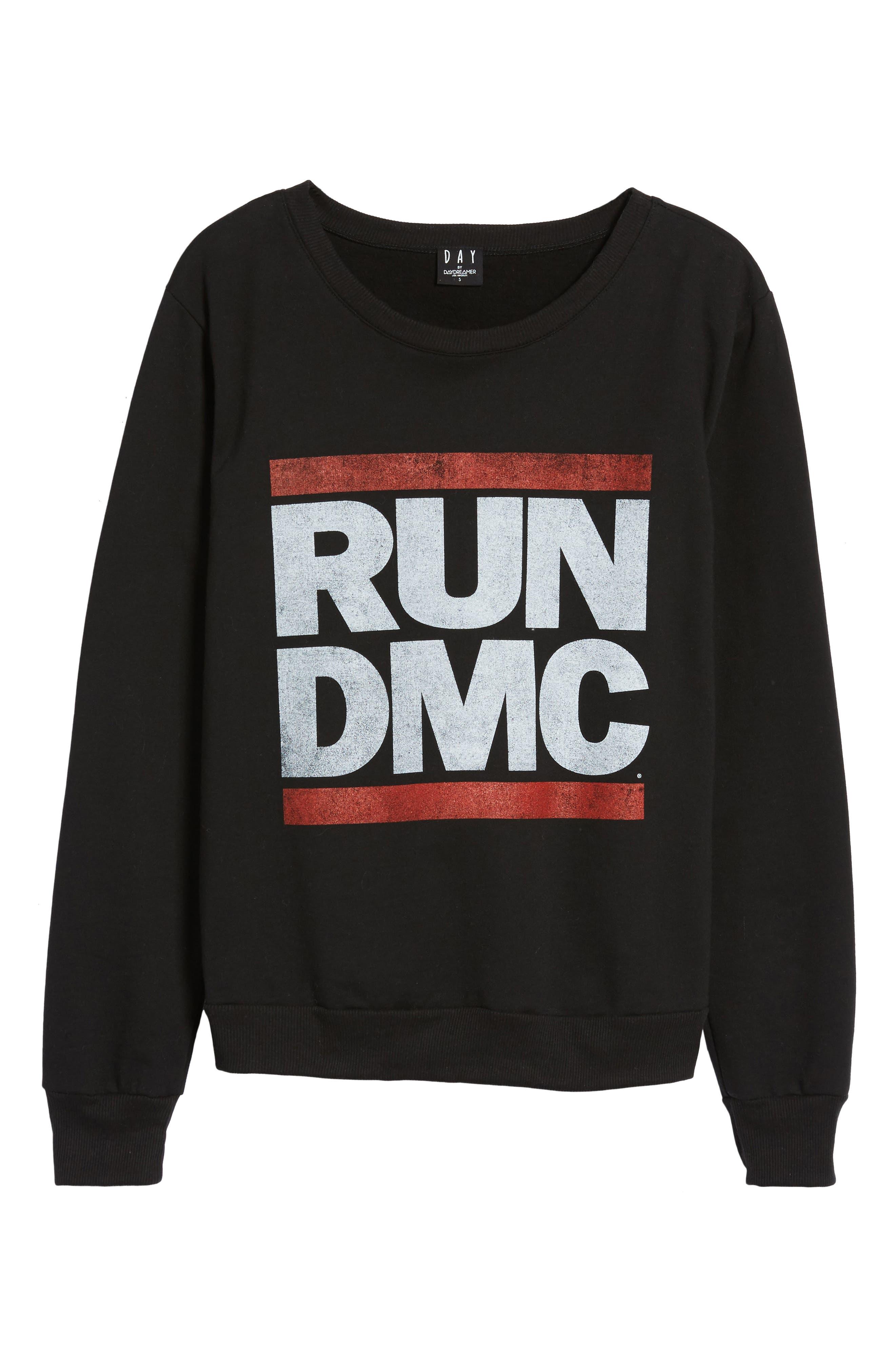 Run-DMC Sweatshirt,                             Alternate thumbnail 6, color,                             001