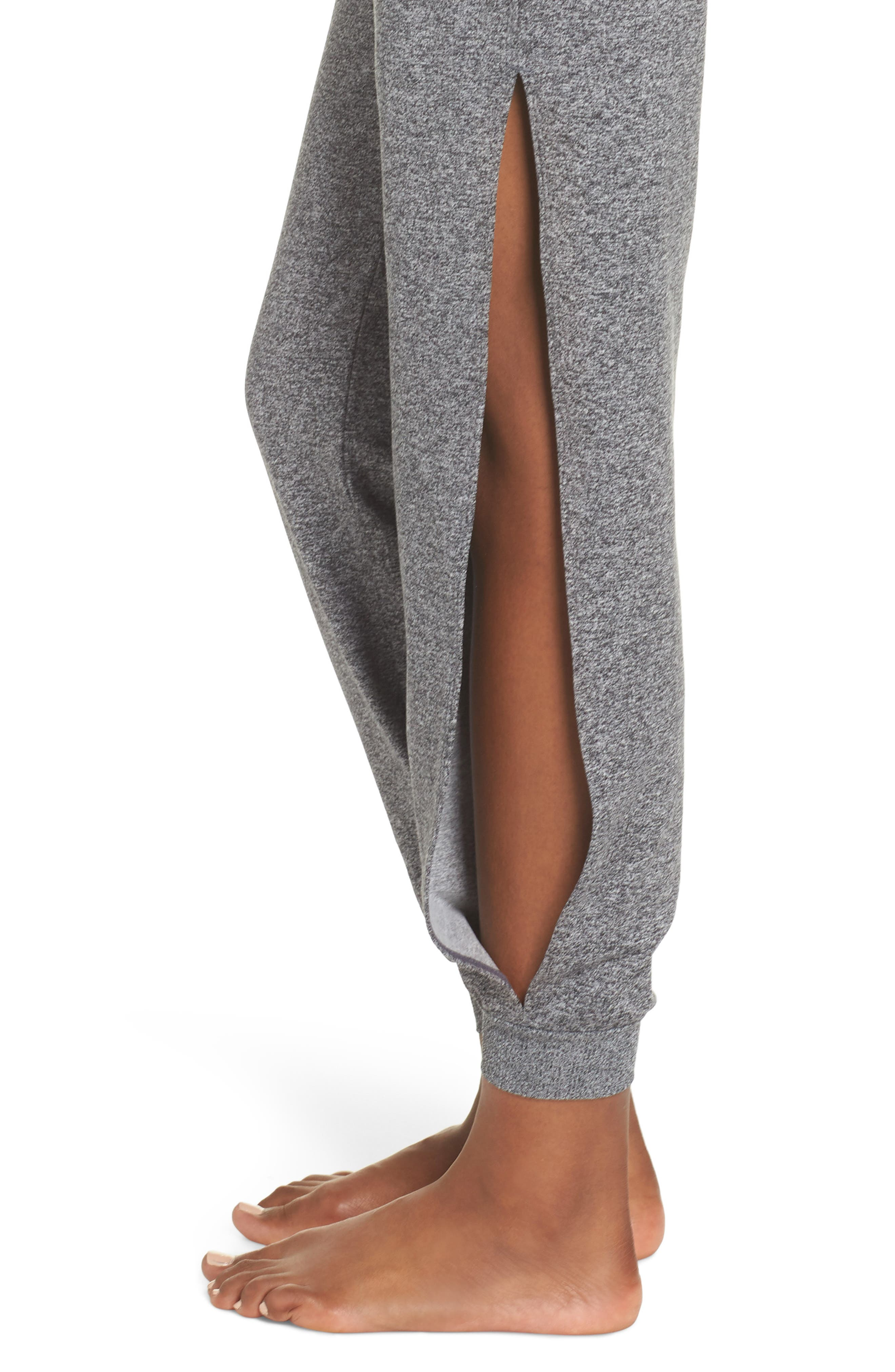 Re-Covery Recycled Lounge Pants,                             Alternate thumbnail 4, color,                             001