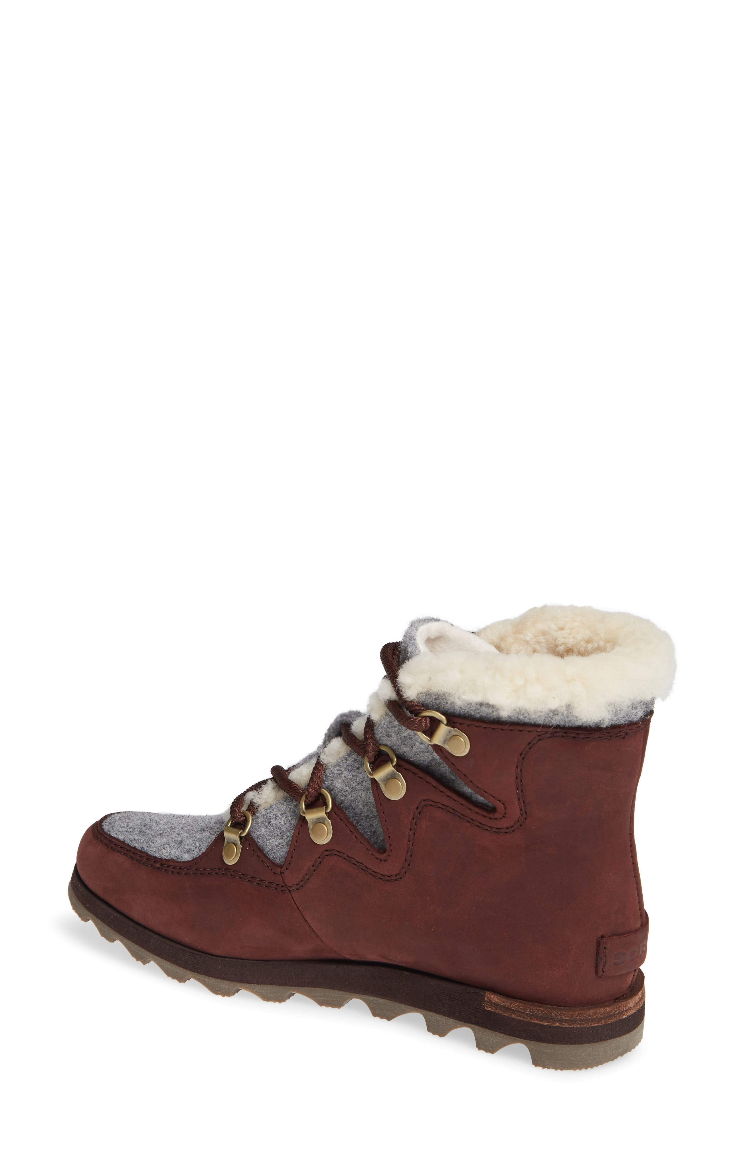Sneakchic Alpine Holiday Waterproof Bootie,                             Alternate thumbnail 2, color,                             CATTAIL/ GUM