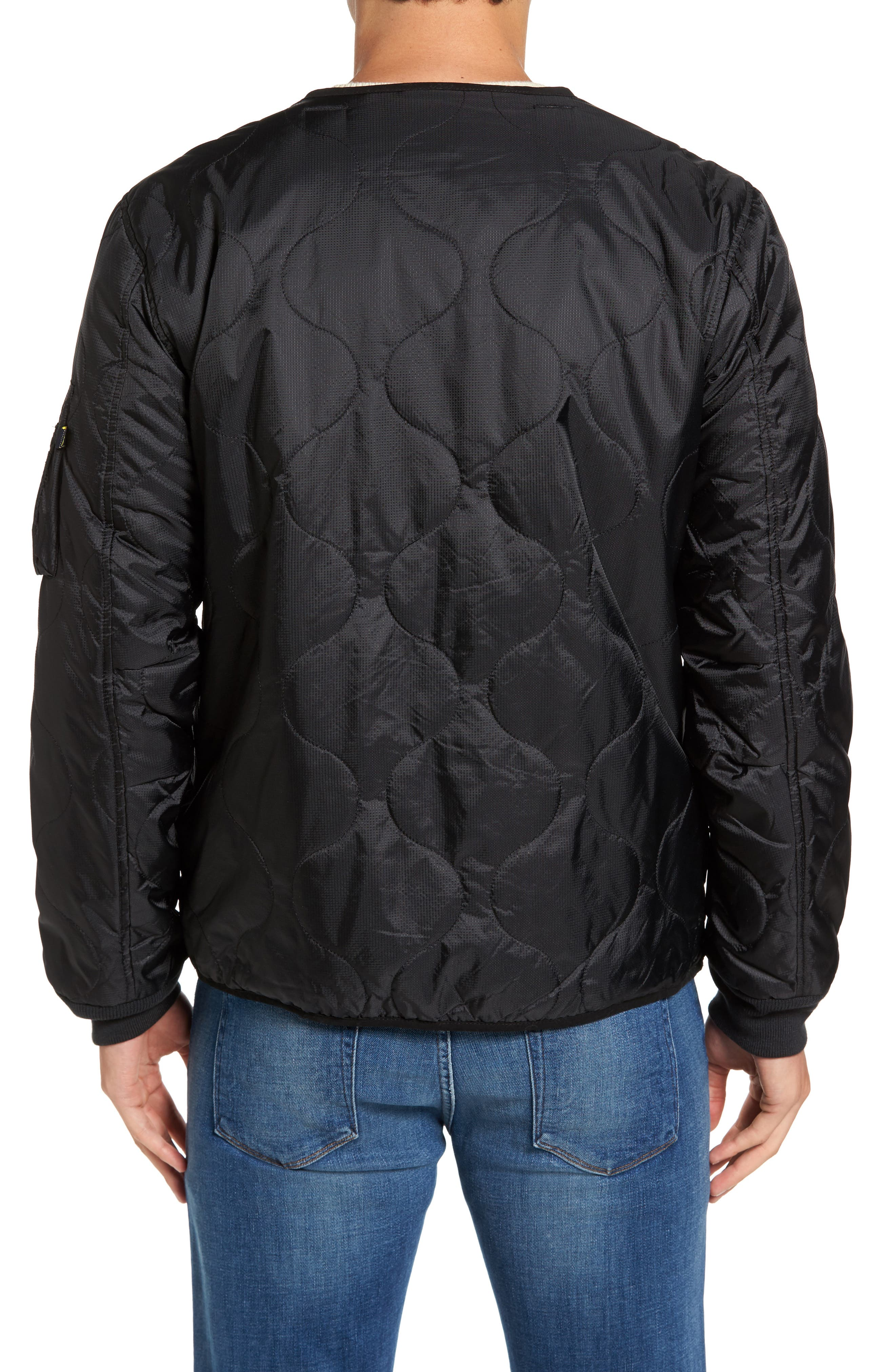 Pioneer Quilted Bomber Jacket,                             Alternate thumbnail 2, color,                             001