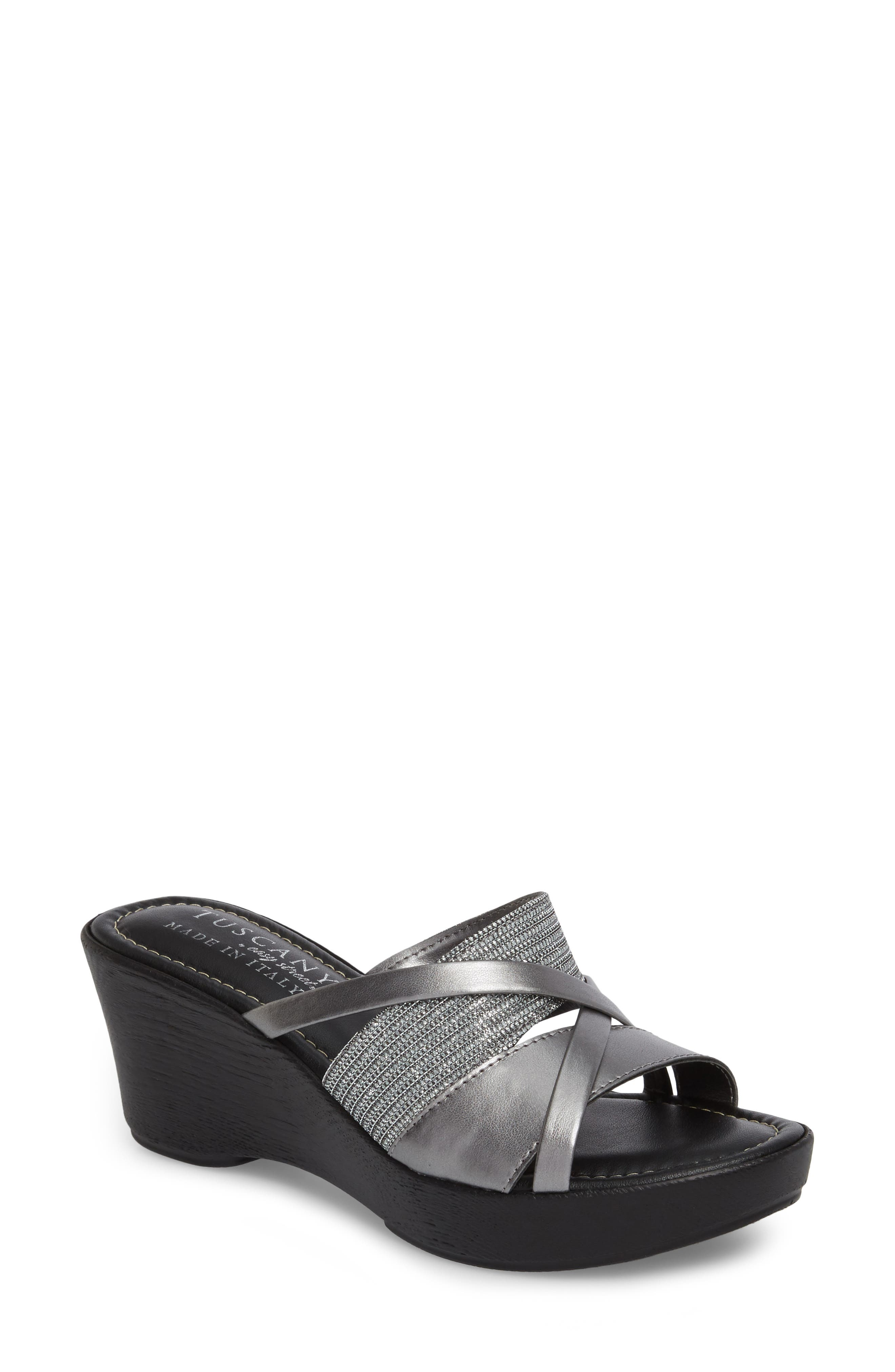 by East Street<sup>®</sup> Lucette Strappy Wedge Mule,                             Main thumbnail 2, color,