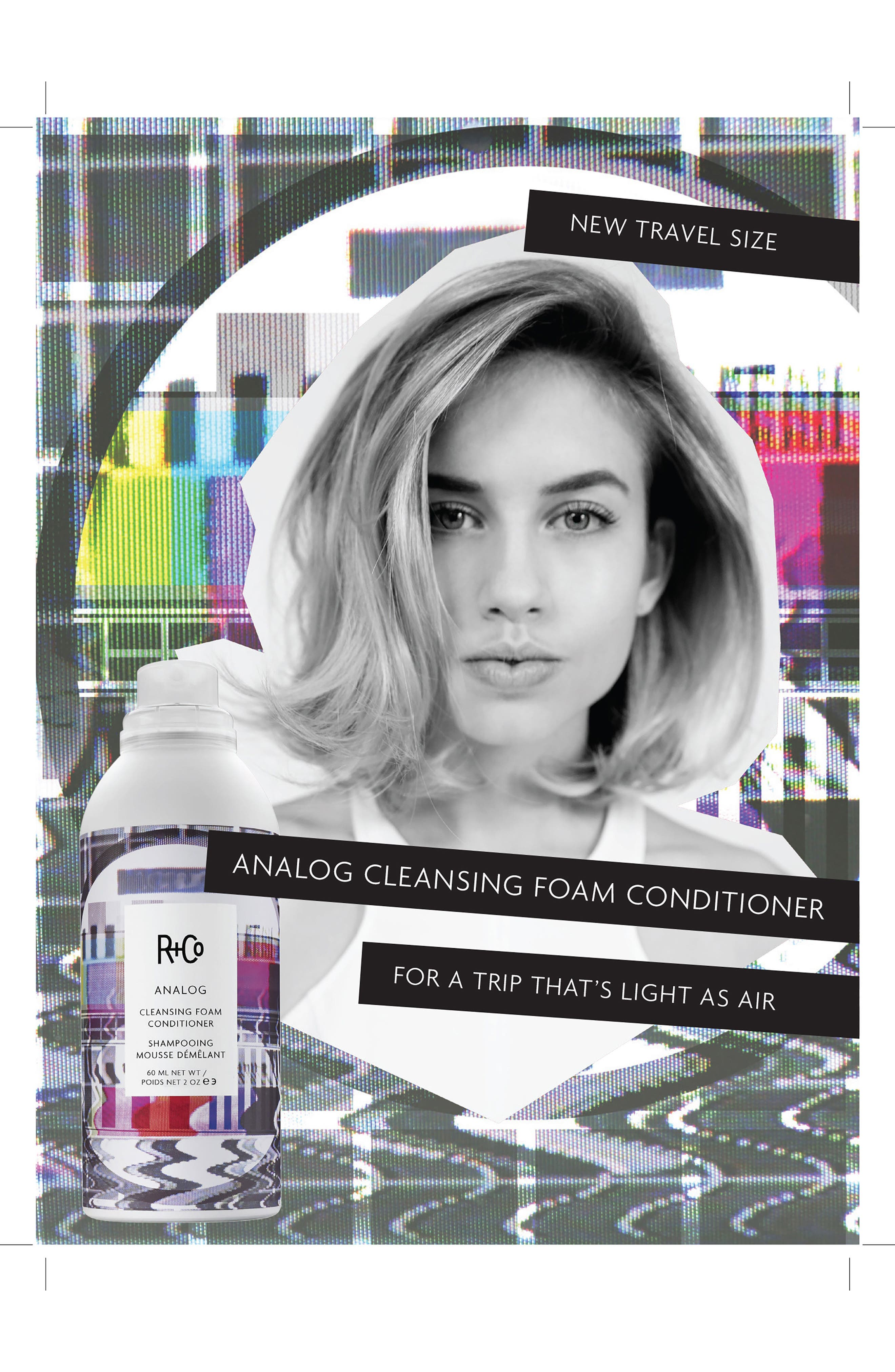 SPACE.NK.apothecary R+Co Analog Cleansing Foam Conditioner,                             Alternate thumbnail 5, color,                             NO COLOR