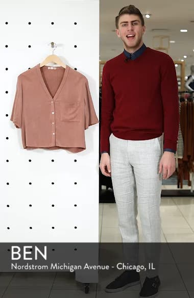 Button Down Blouse, sales video thumbnail