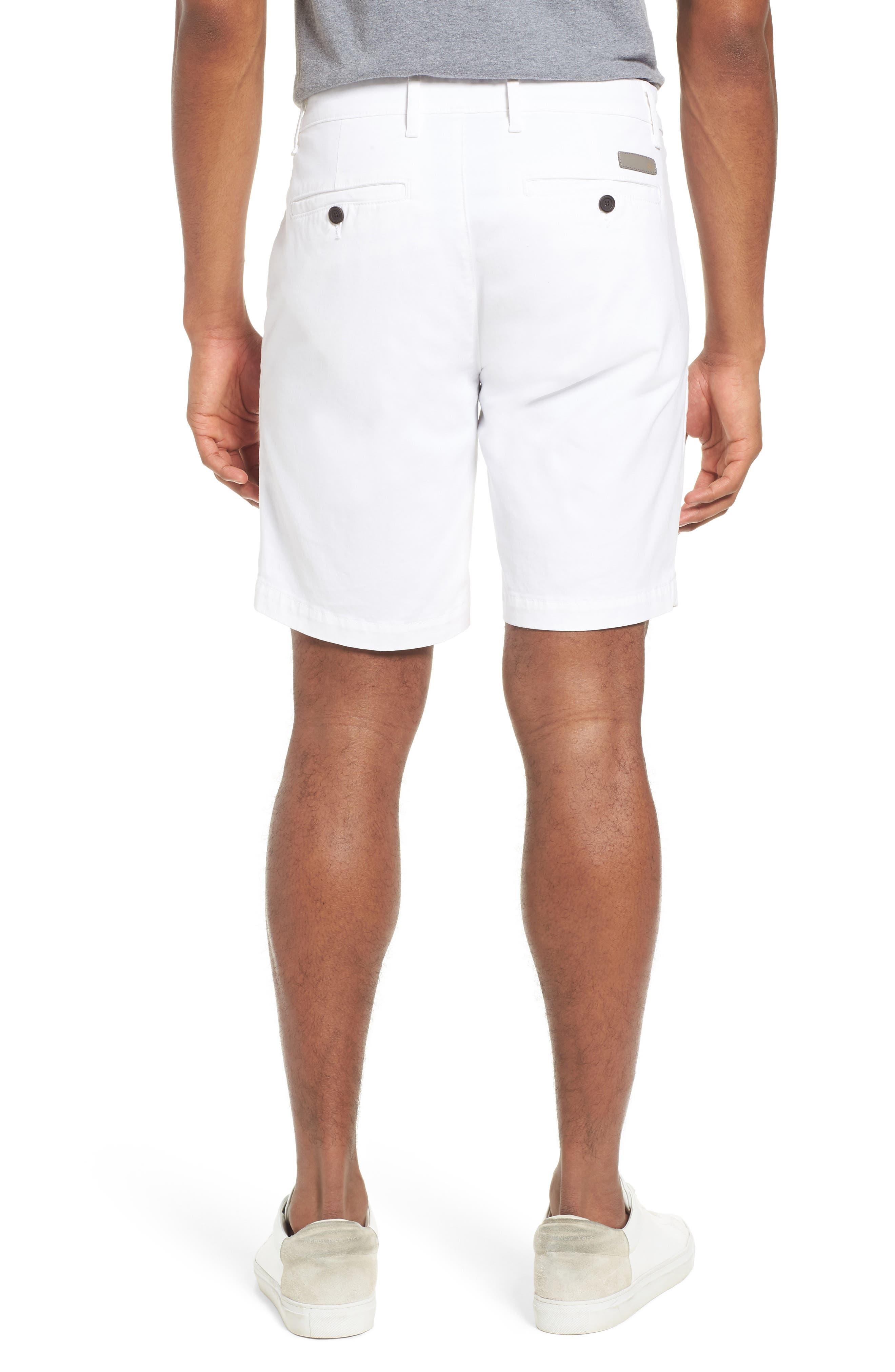 Wanderer Modern Slim Fit Shorts,                             Alternate thumbnail 2, color,                             WHITE