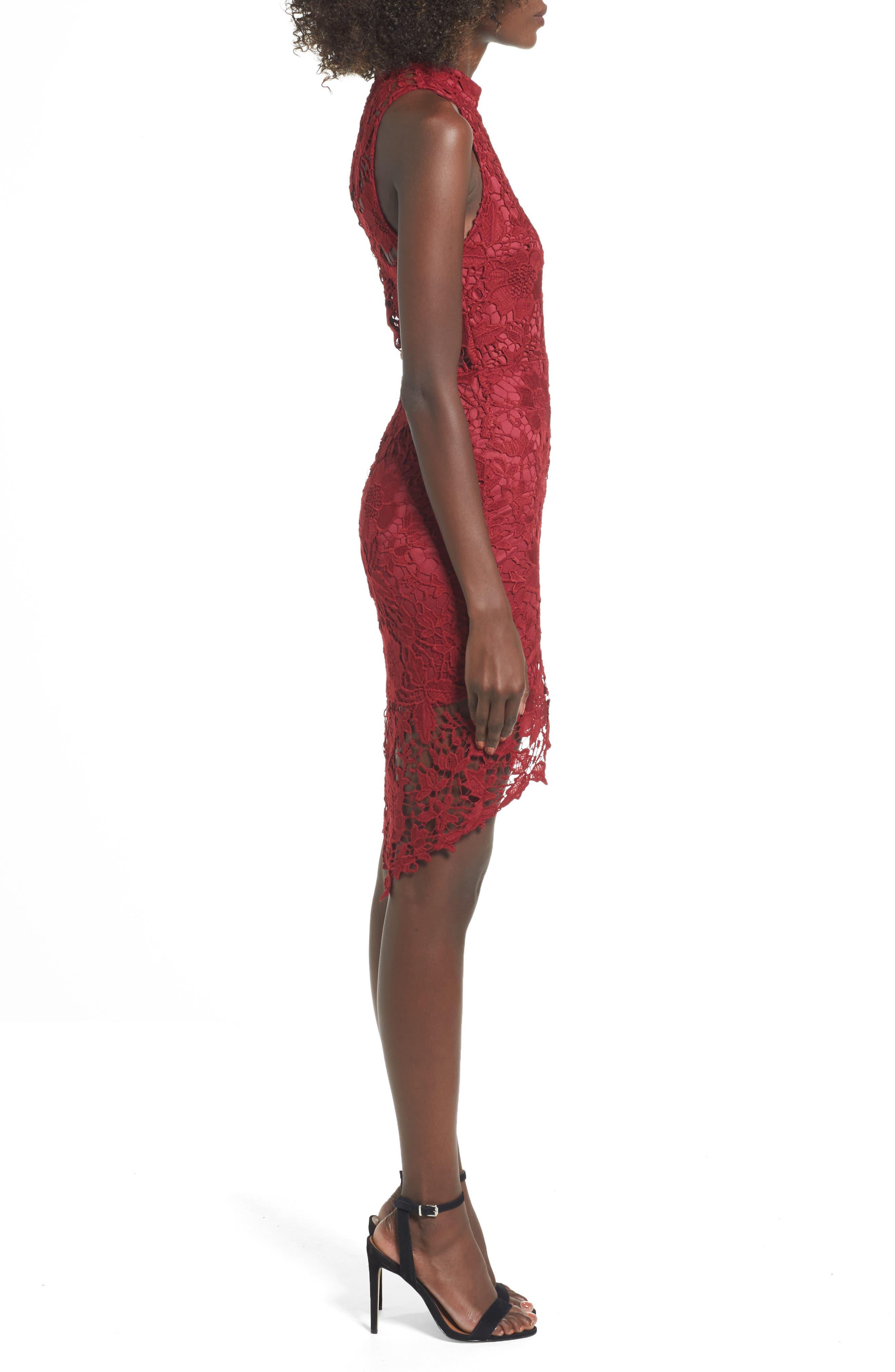 'Samantha' Lace Dress,                             Alternate thumbnail 16, color,