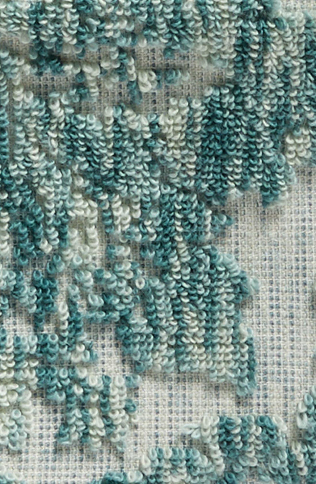 Easton Washcloth,                             Alternate thumbnail 3, color,                             TEAL MIST MULTI