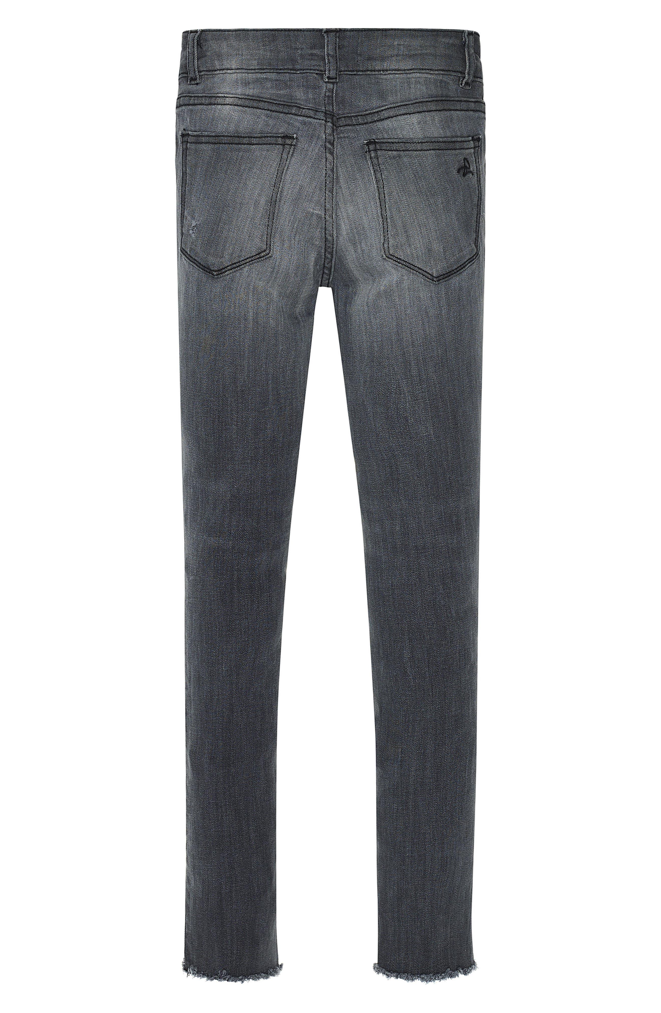 Chloe Raw Hem Skinny Jeans,                             Alternate thumbnail 2, color,                             025