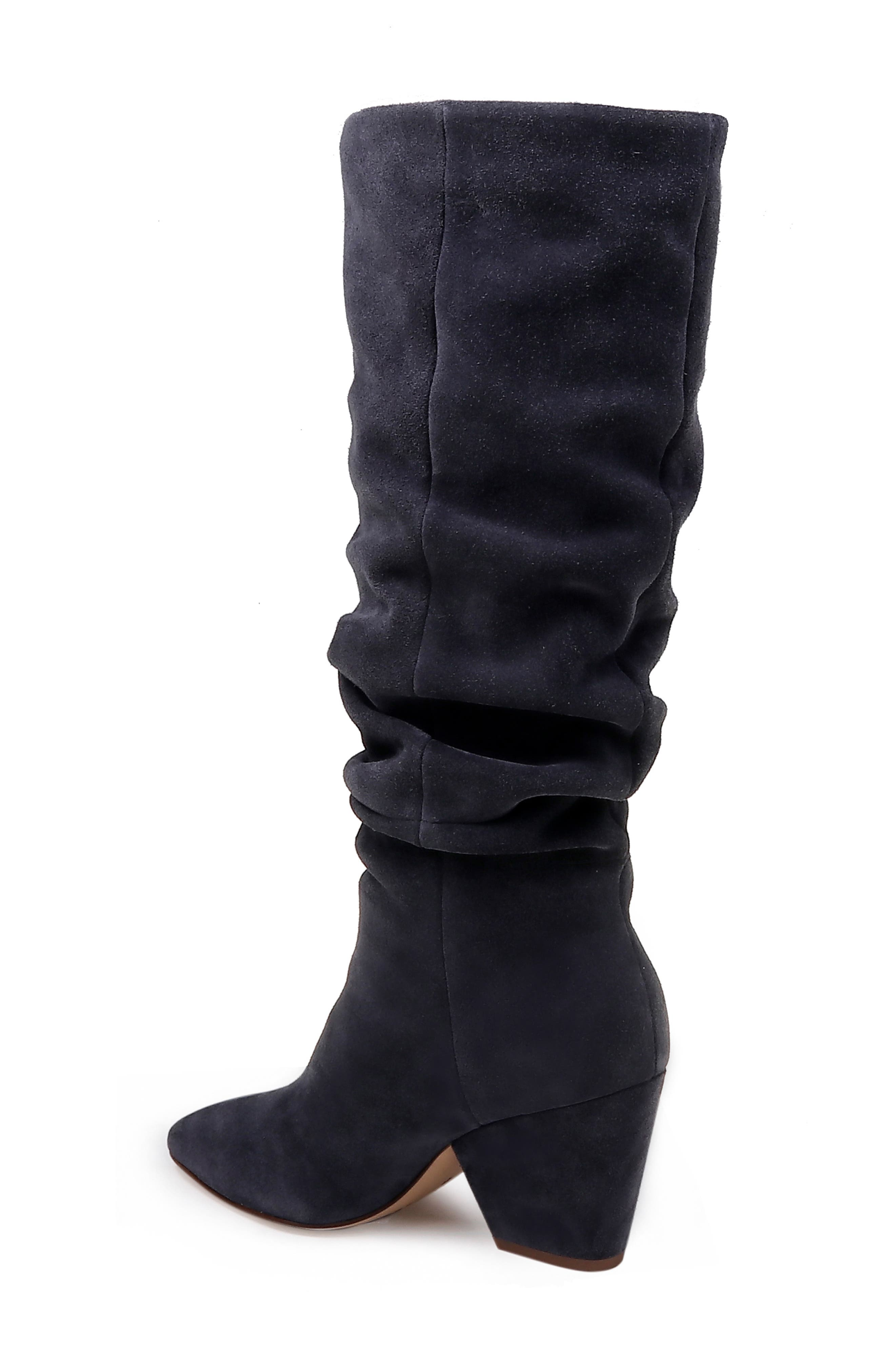 Clayton Slouchy Boot,                             Alternate thumbnail 2, color,                             GREYSTONE SUEDE