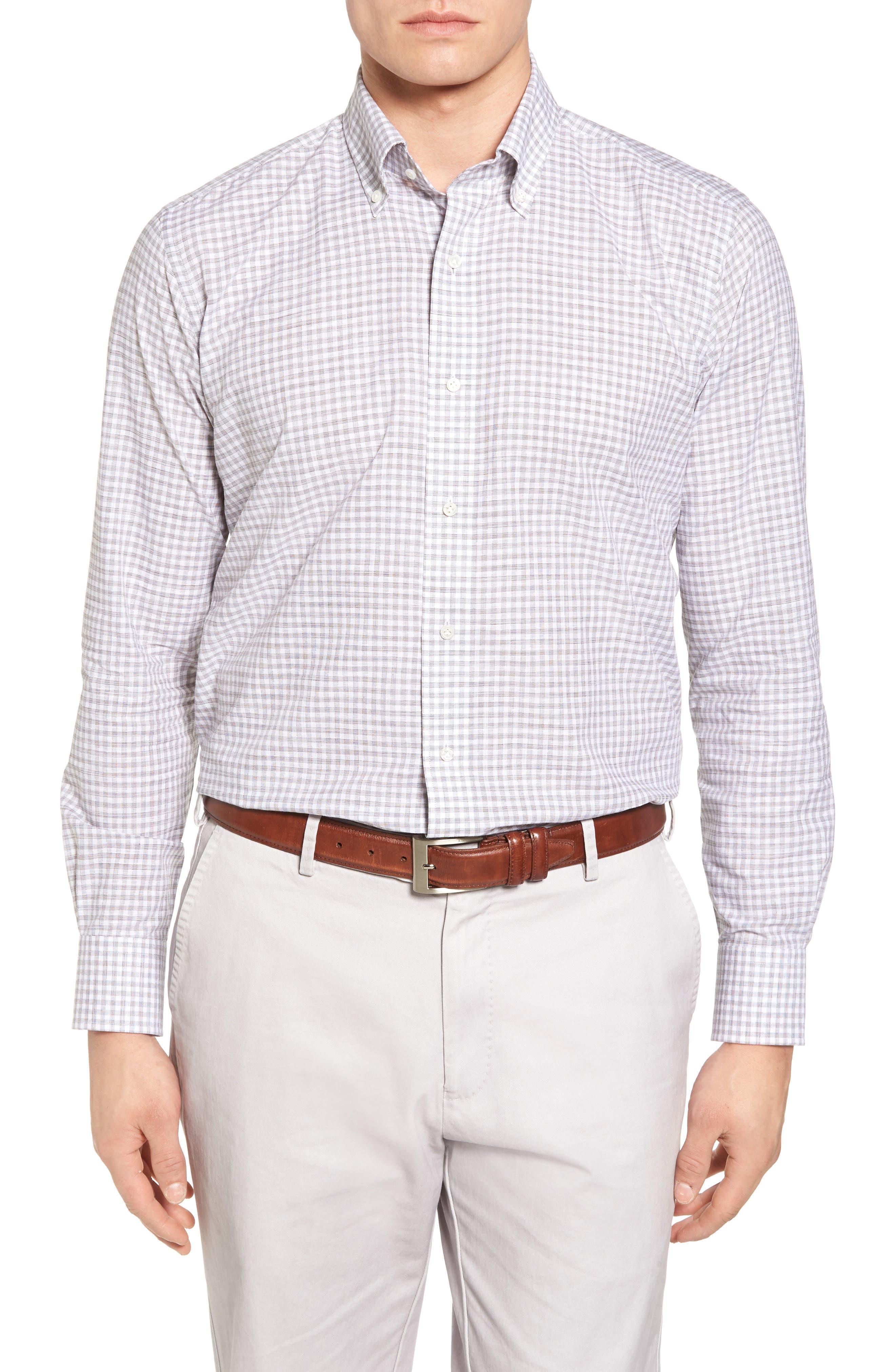Moon Valley Chambray Sport Shirt,                         Main,                         color, 240
