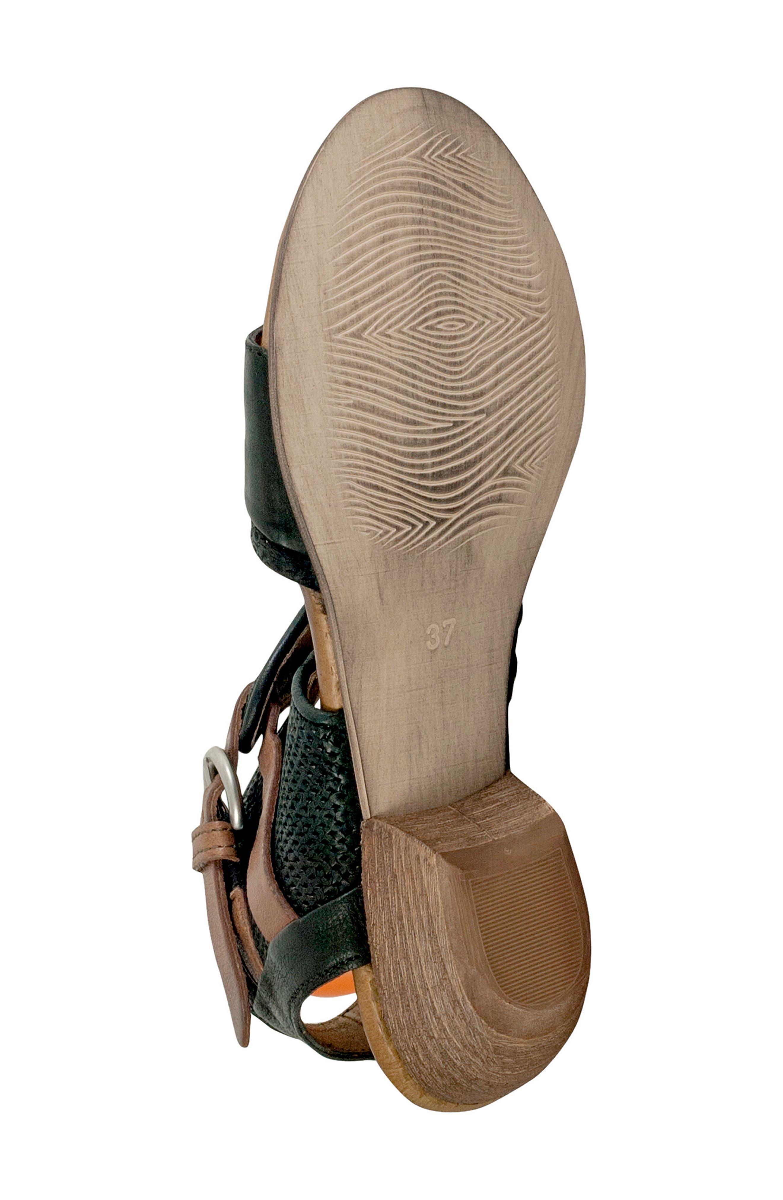 Chatham Textured Sandal,                             Alternate thumbnail 6, color,                             001