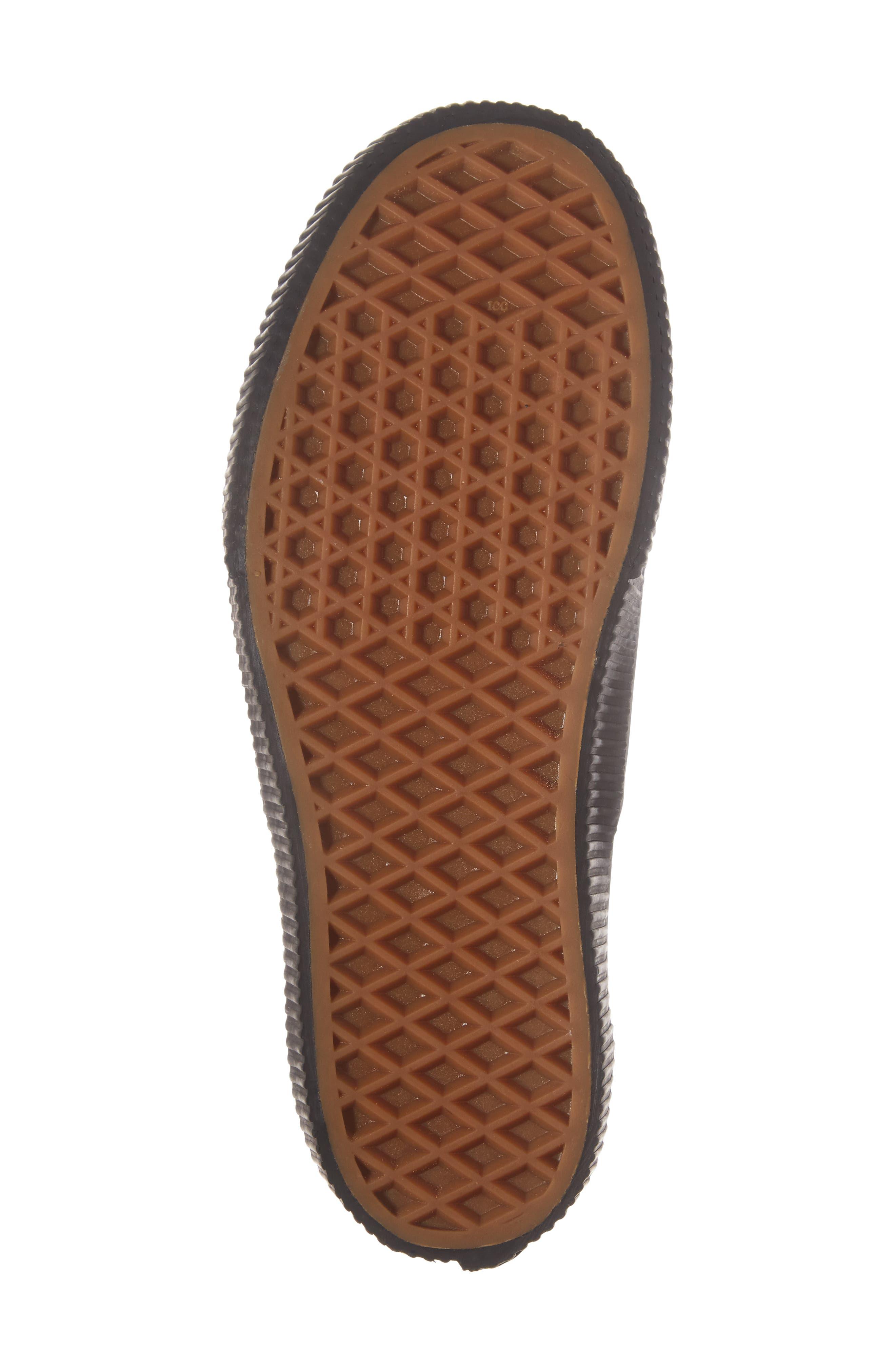 Authentic 2.0 Platform Sneaker,                             Alternate thumbnail 6, color,                             001