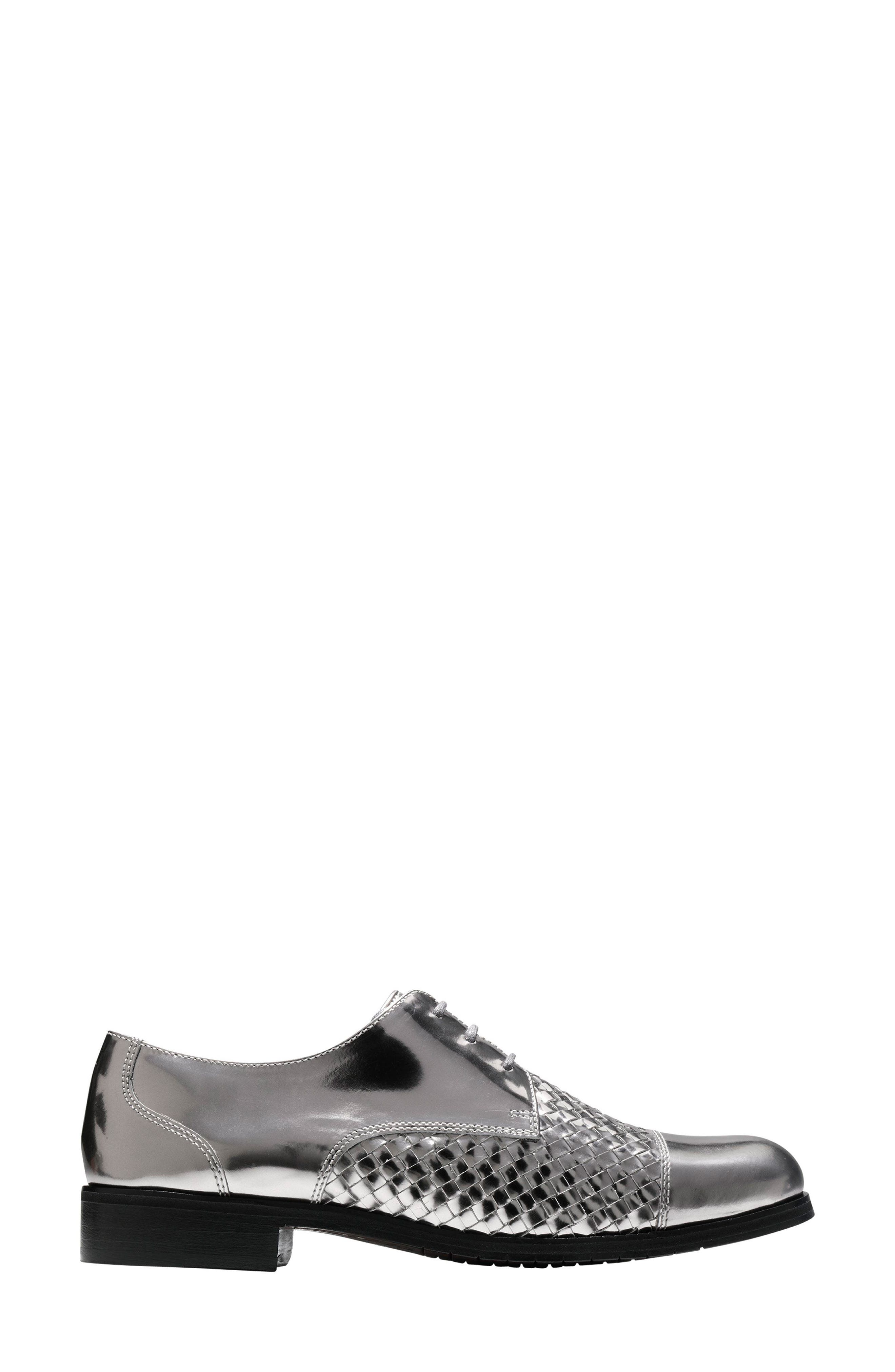 Jagger Oxford,                             Alternate thumbnail 3, color,                             PEWTER LEATHER