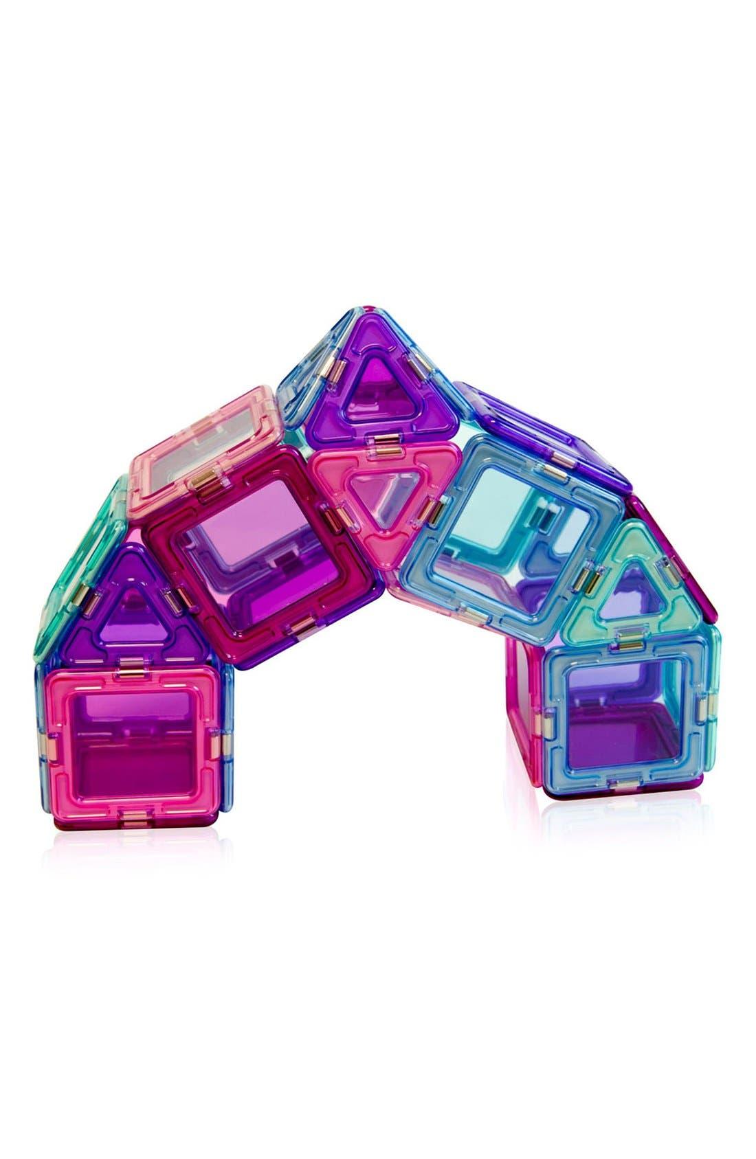 'Inspire - Solids' Clear Magnetic 3D Construction Set,                             Alternate thumbnail 4, color,