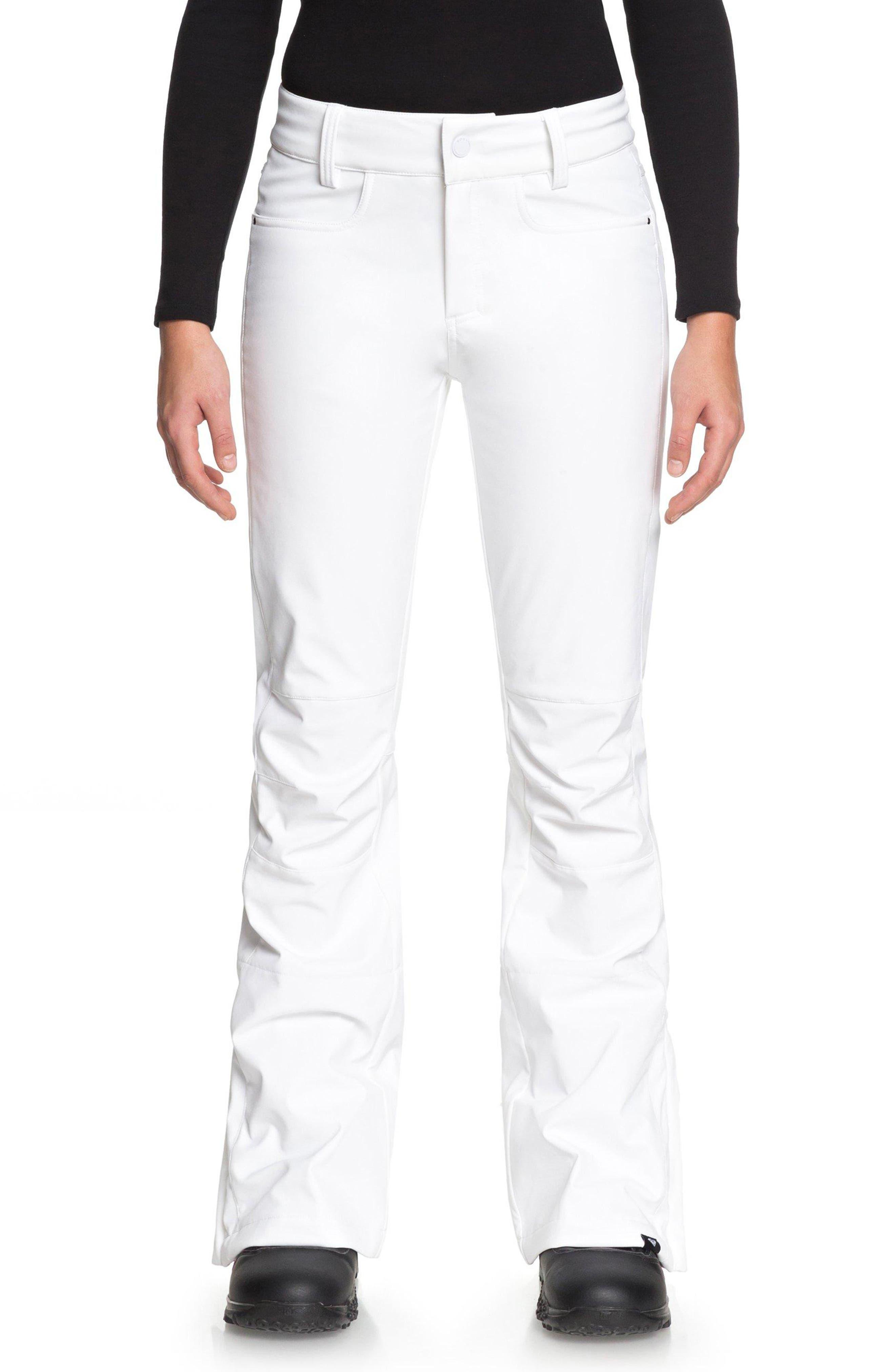 Roxy Creek Snow Pants, White