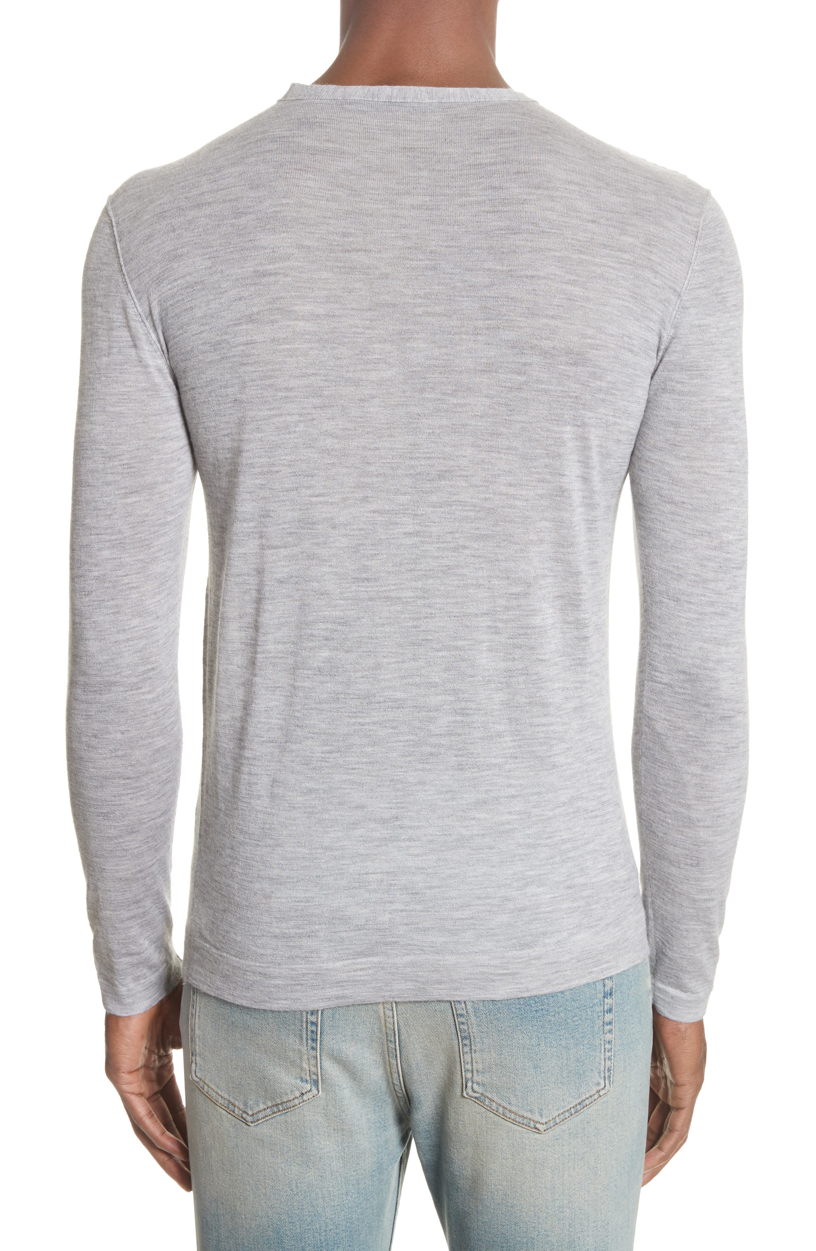 Cashmere Crewneck Sweater,                             Alternate thumbnail 2, color,                             055