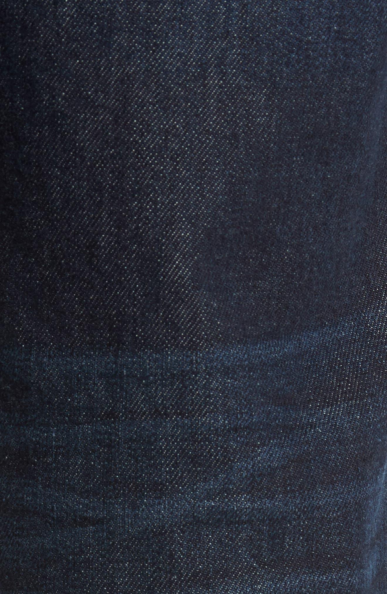 Brixton Slim Straight Leg Jeans,                             Alternate thumbnail 5, color,                             415