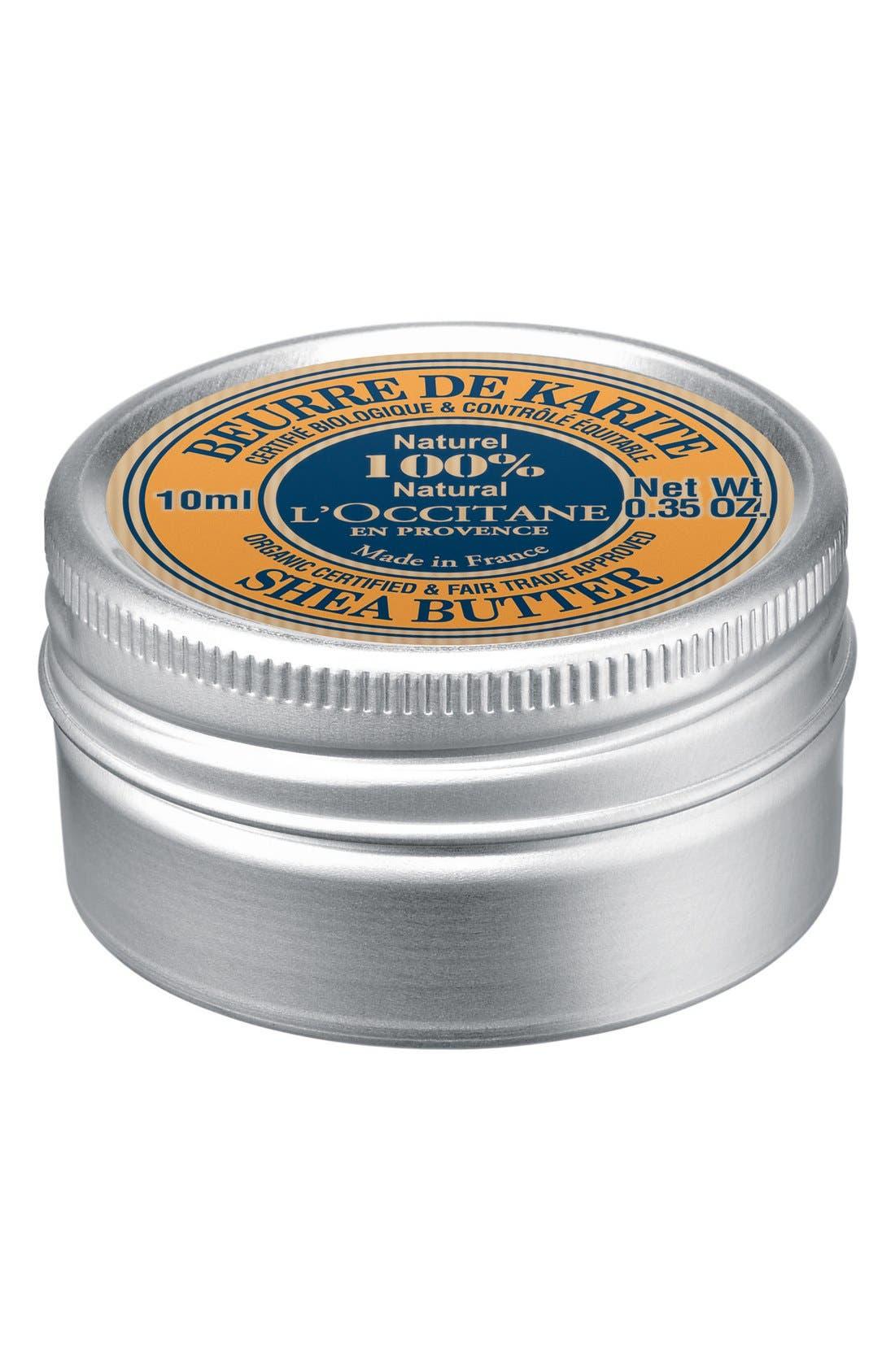 Mini Pure Shea Butter,                             Alternate thumbnail 3, color,                             000