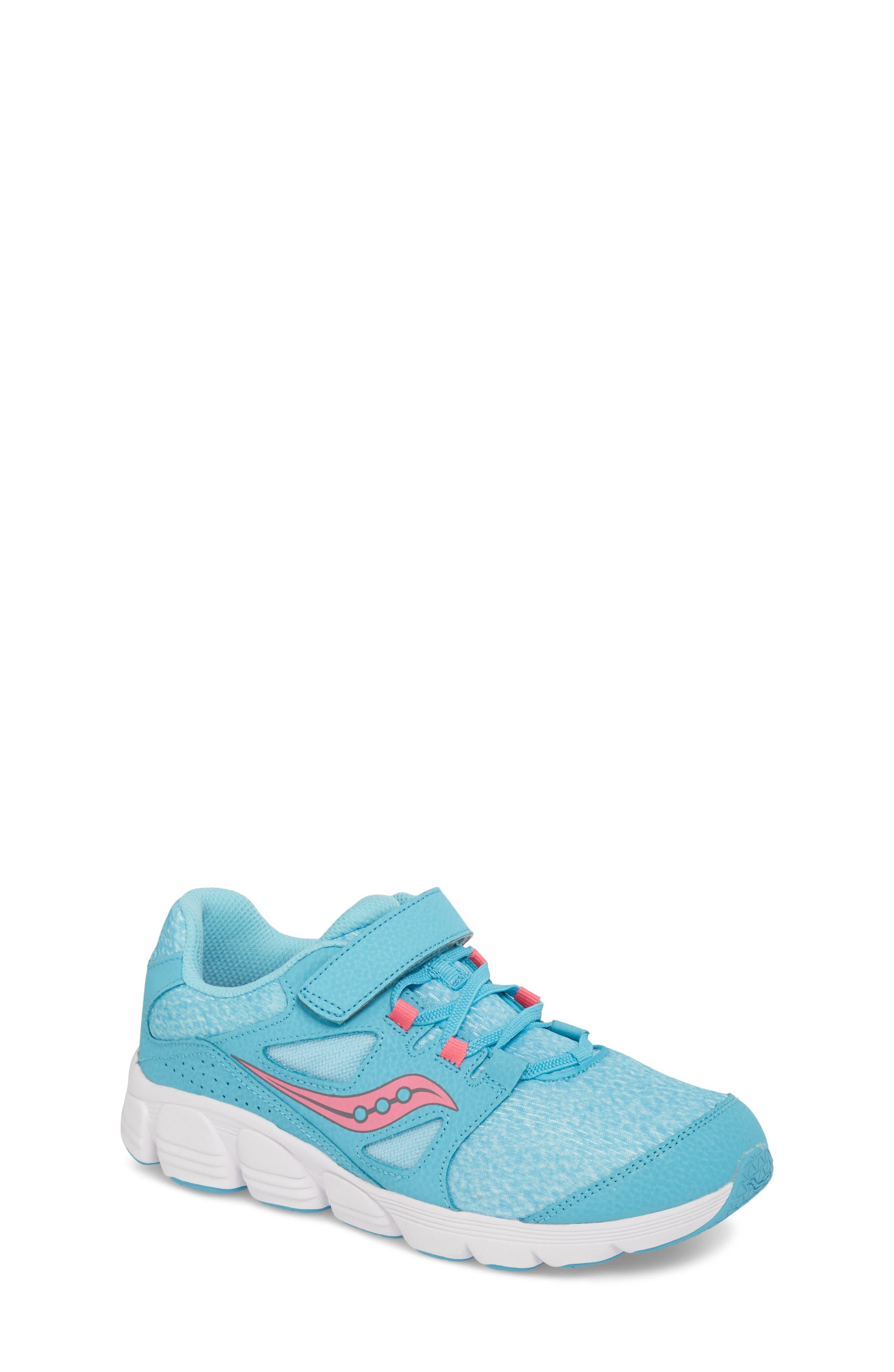 Kotaro 4 Sneaker,                             Main thumbnail 1, color,                             TURQUOISE/ PINK