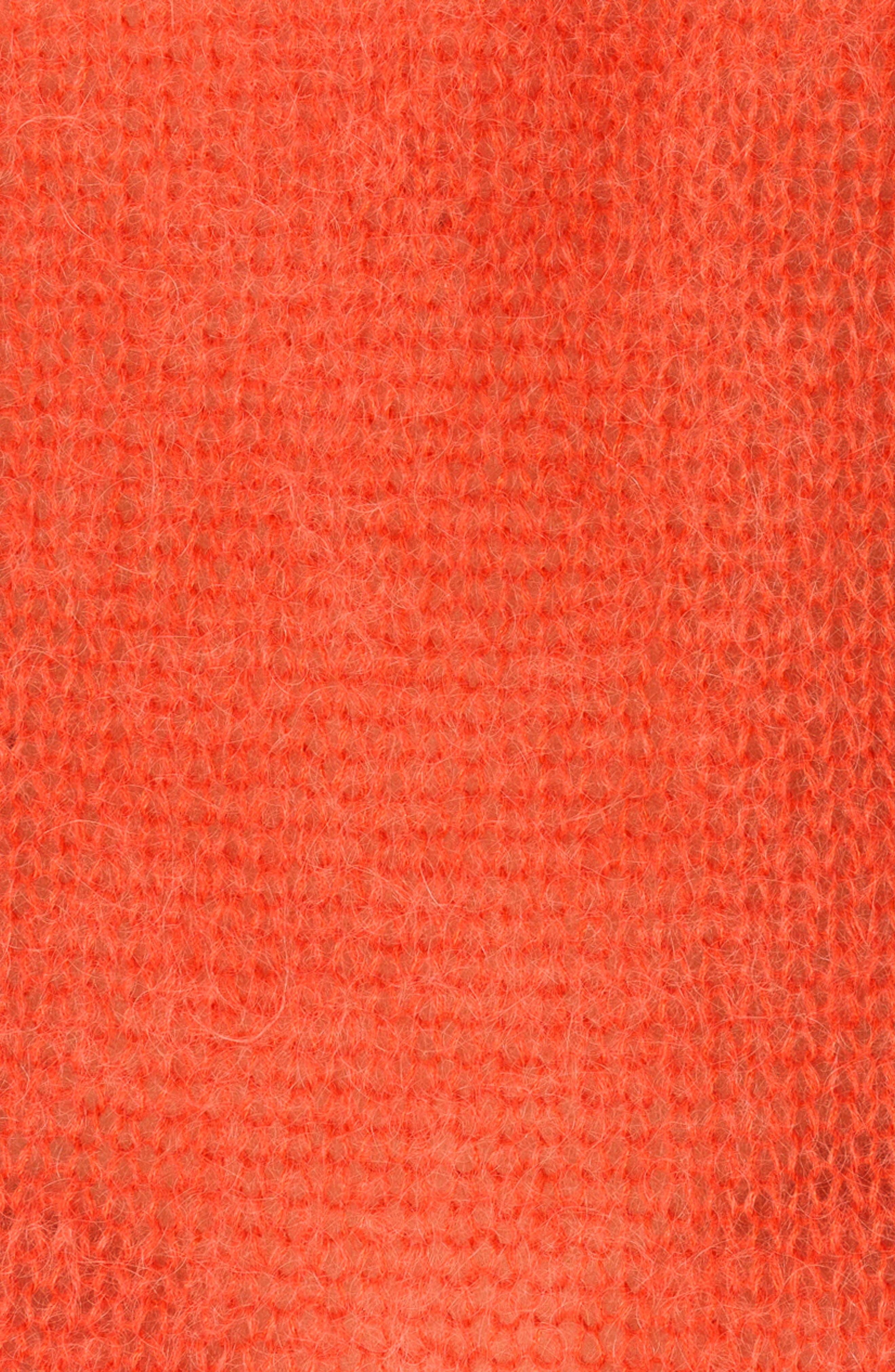 Dicky Tie Cuff Sweater,                             Alternate thumbnail 4, color,