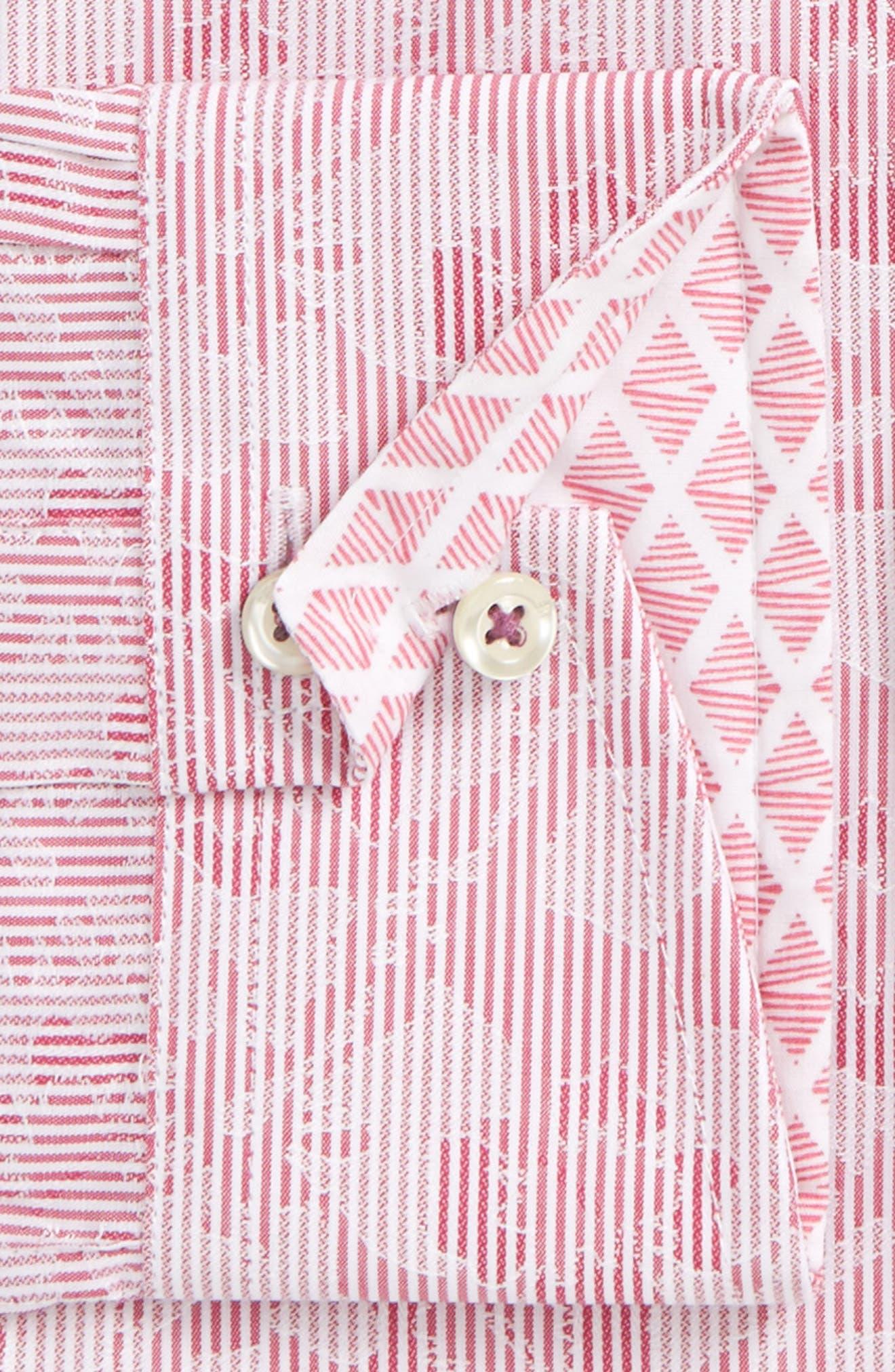 Orlov Trim Fit Floral Dress Shirt,                             Alternate thumbnail 2, color,                             660
