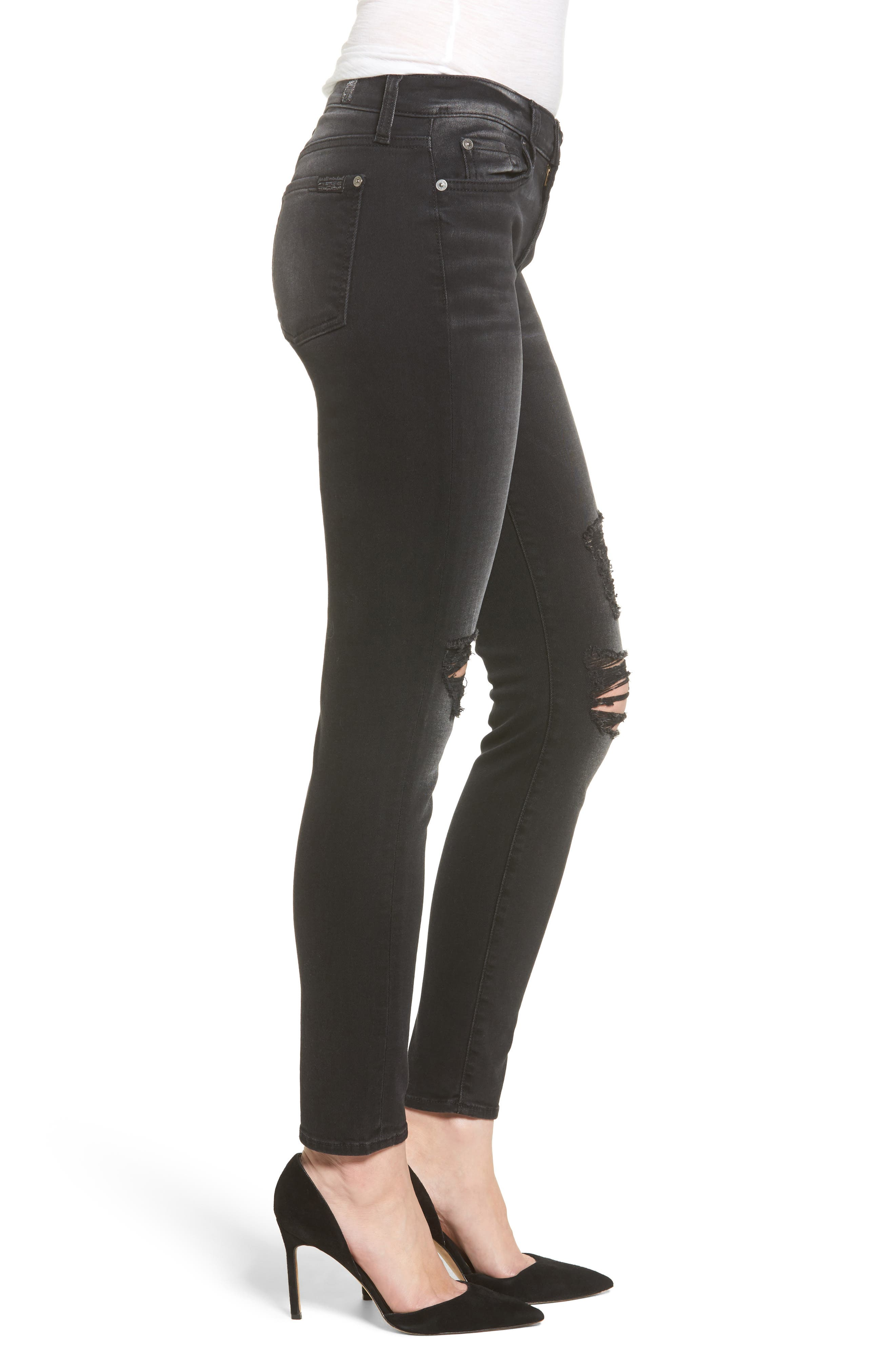 Seven7 The Ankle Skinny Jeans,                             Alternate thumbnail 3, color,                             004