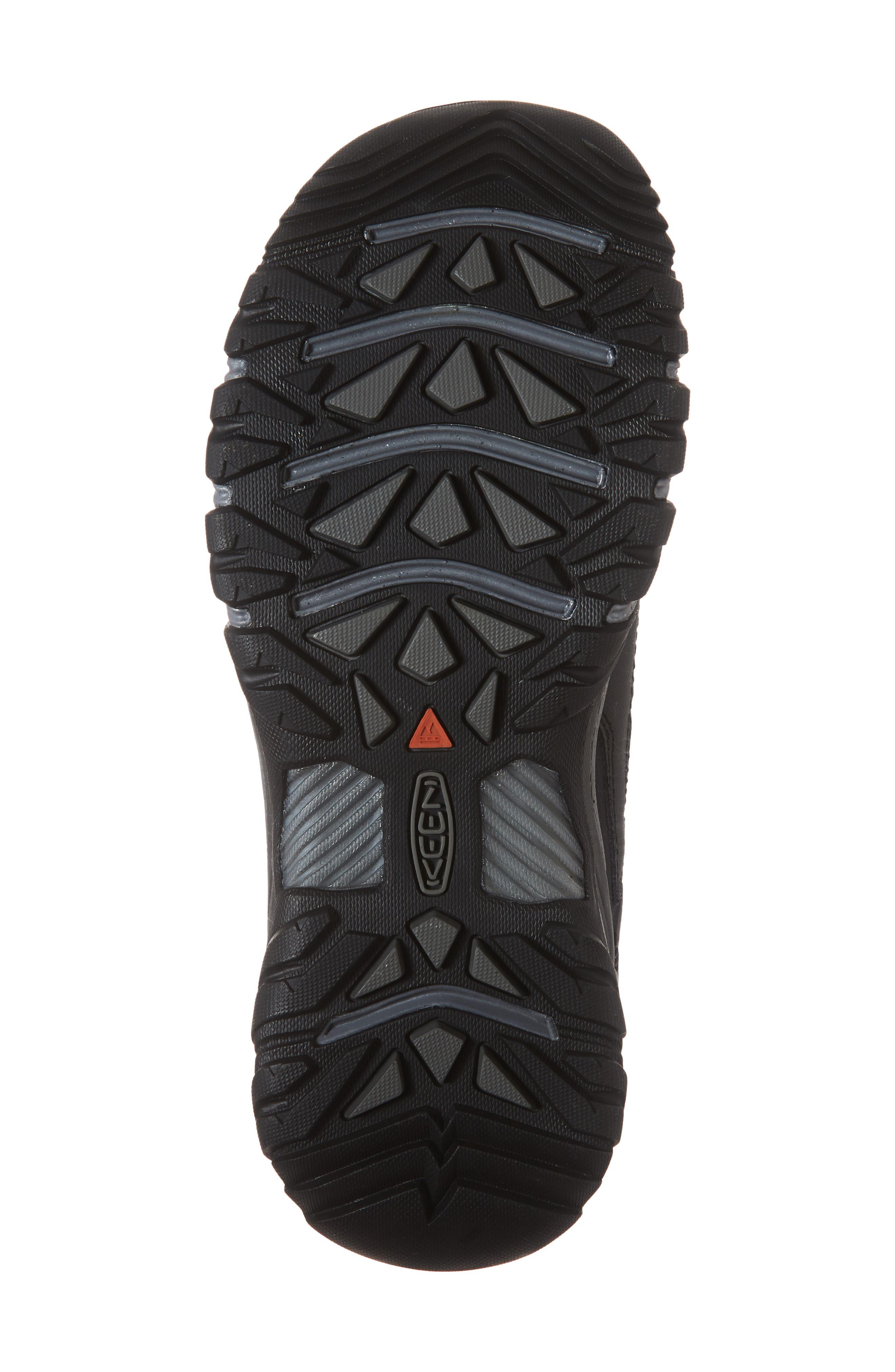 Targhee EXP Waterproof Hiking Shoe,                             Alternate thumbnail 6, color,                             BLACK/ STEEL GREY