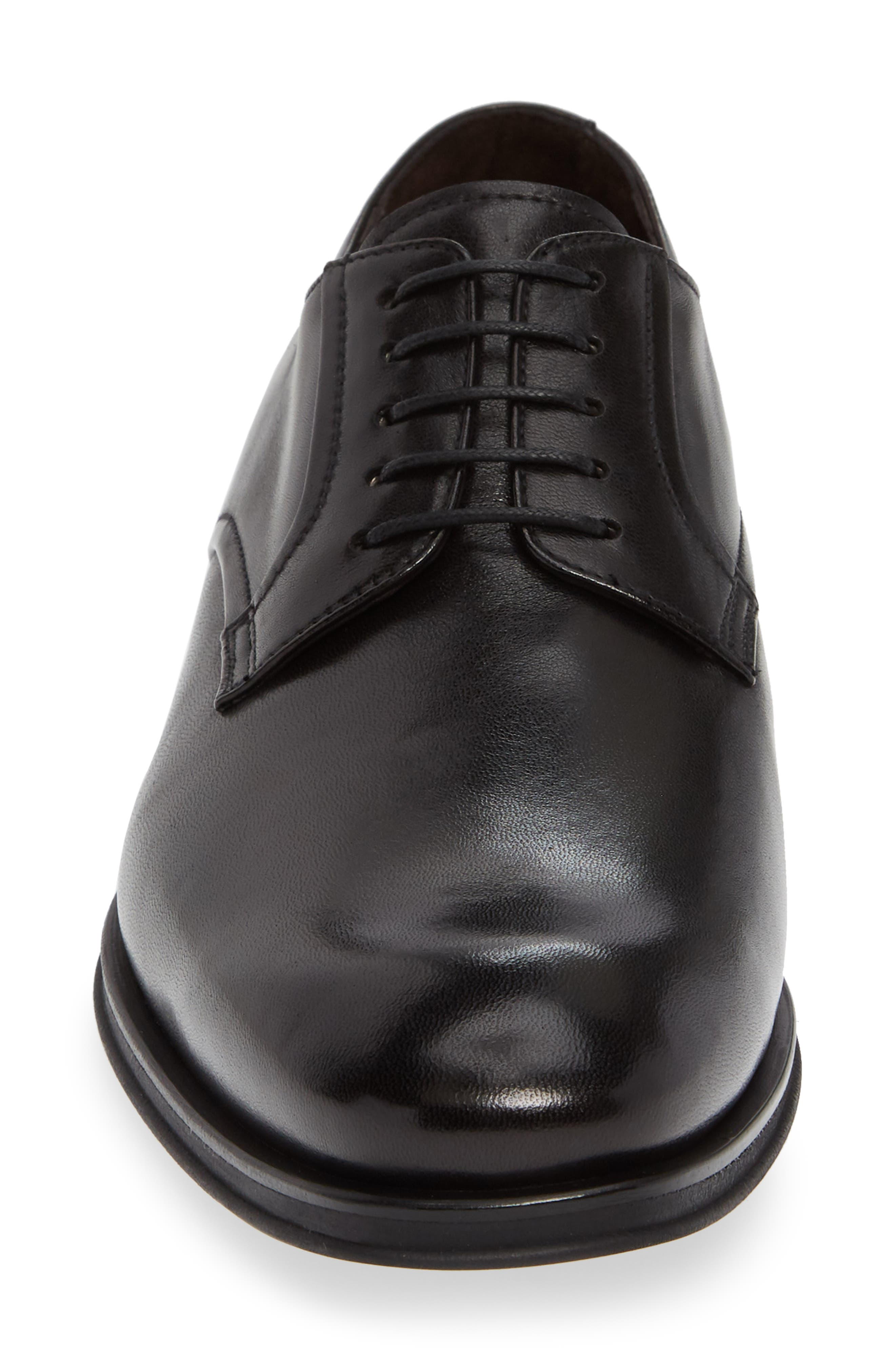 MS Zurich Oxford,                             Alternate thumbnail 4, color,                             BLACK LEATHER