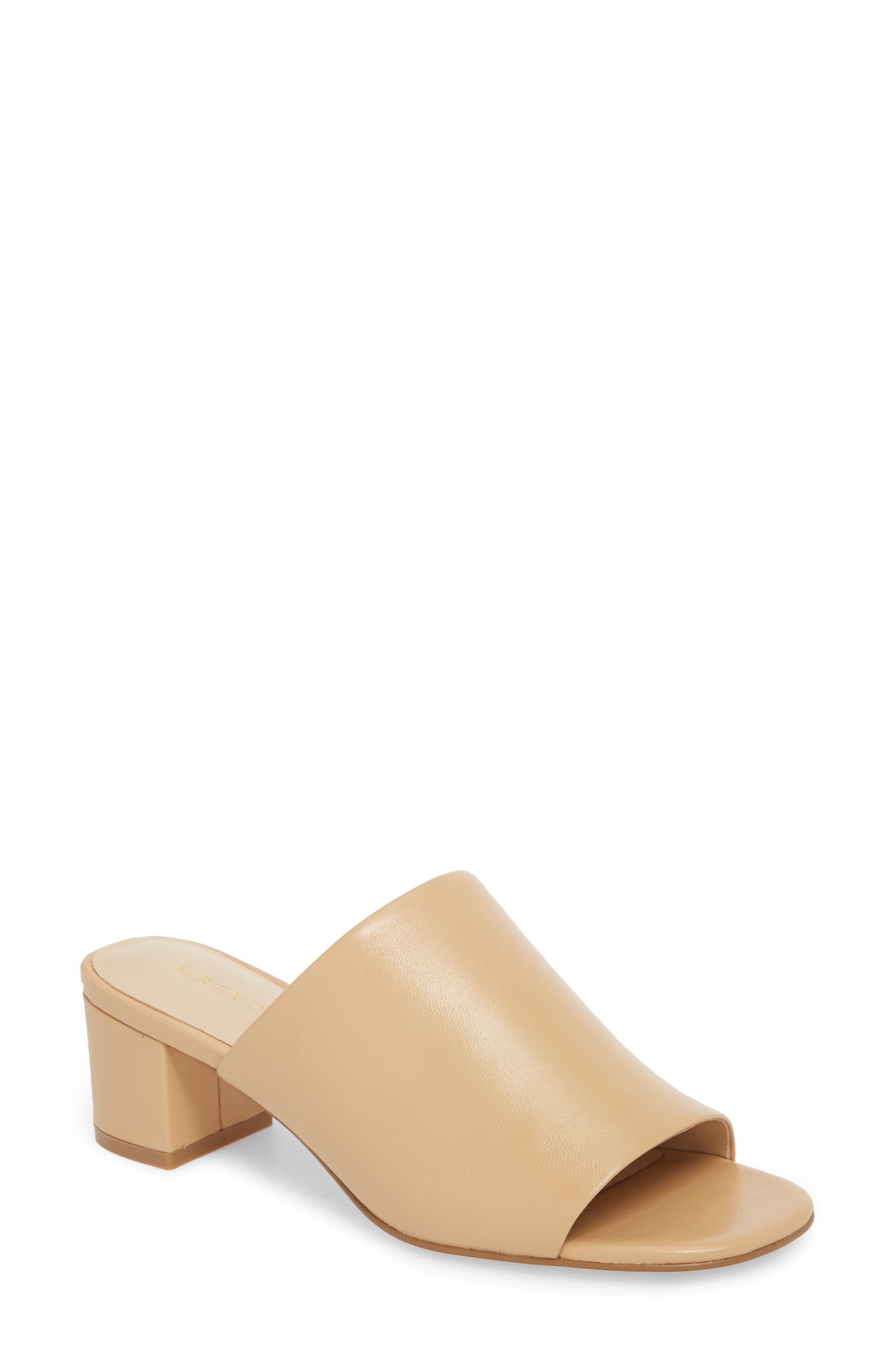 Carmen Slide Sandal,                         Main,                         color, CAMEL