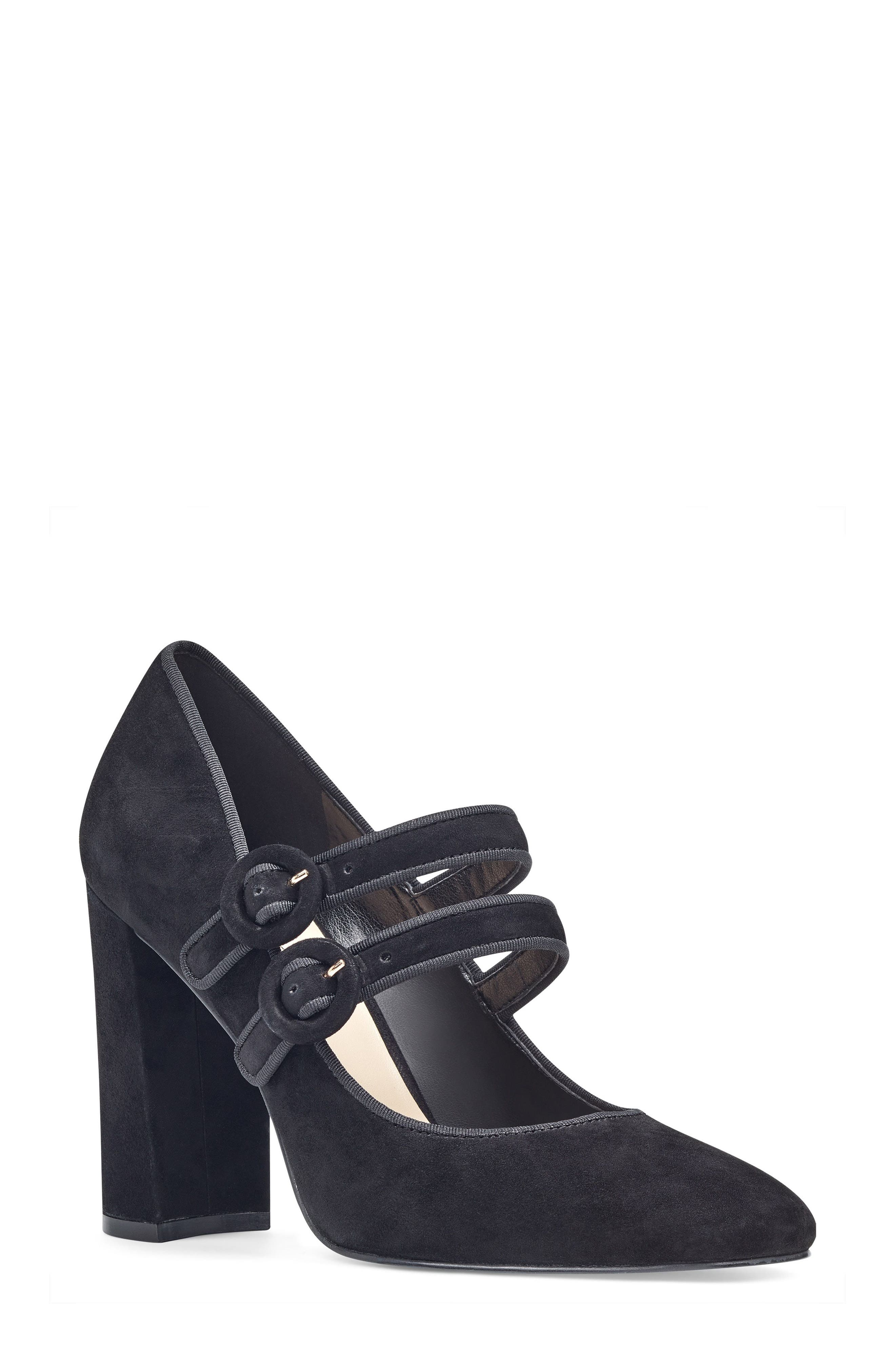 Dabney Double Strap Mary Jane Pump,                             Main thumbnail 1, color,
