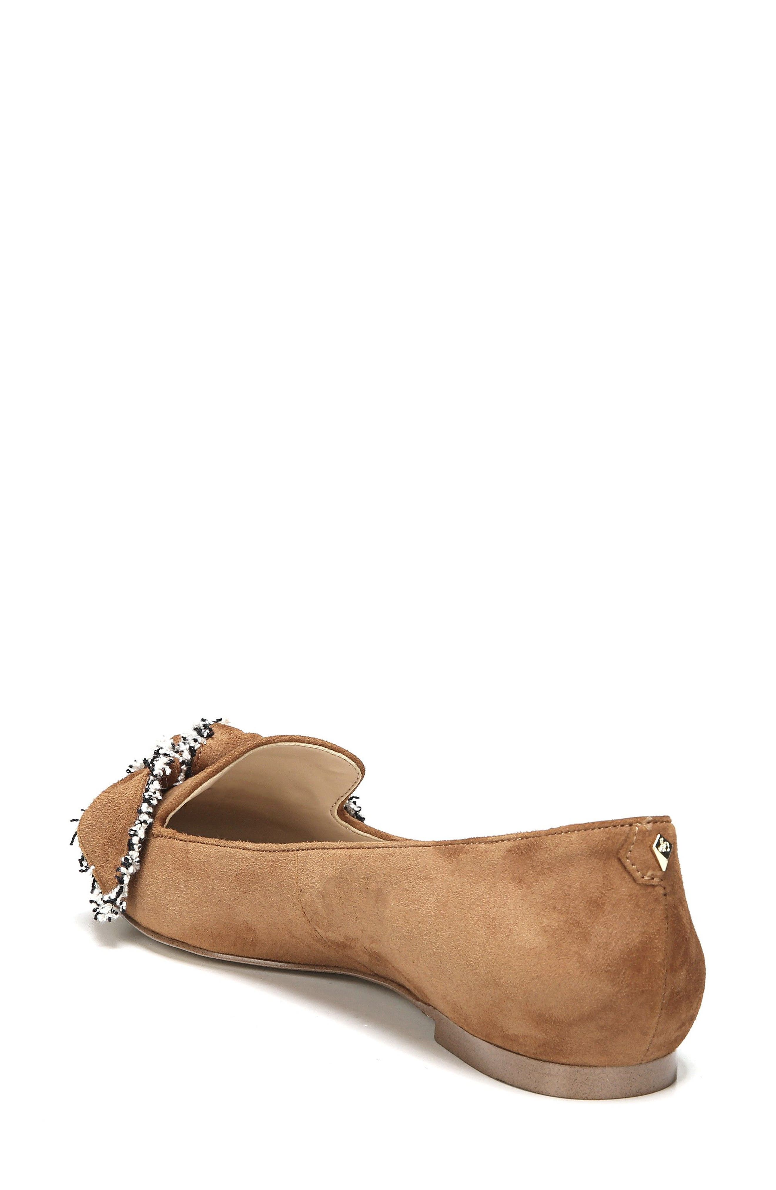 Rochester Bow Pointy Toe Flat,                             Alternate thumbnail 6, color,