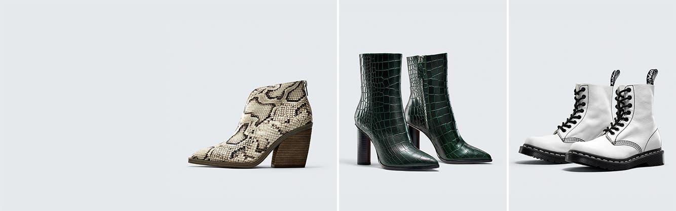 Women's booties.
