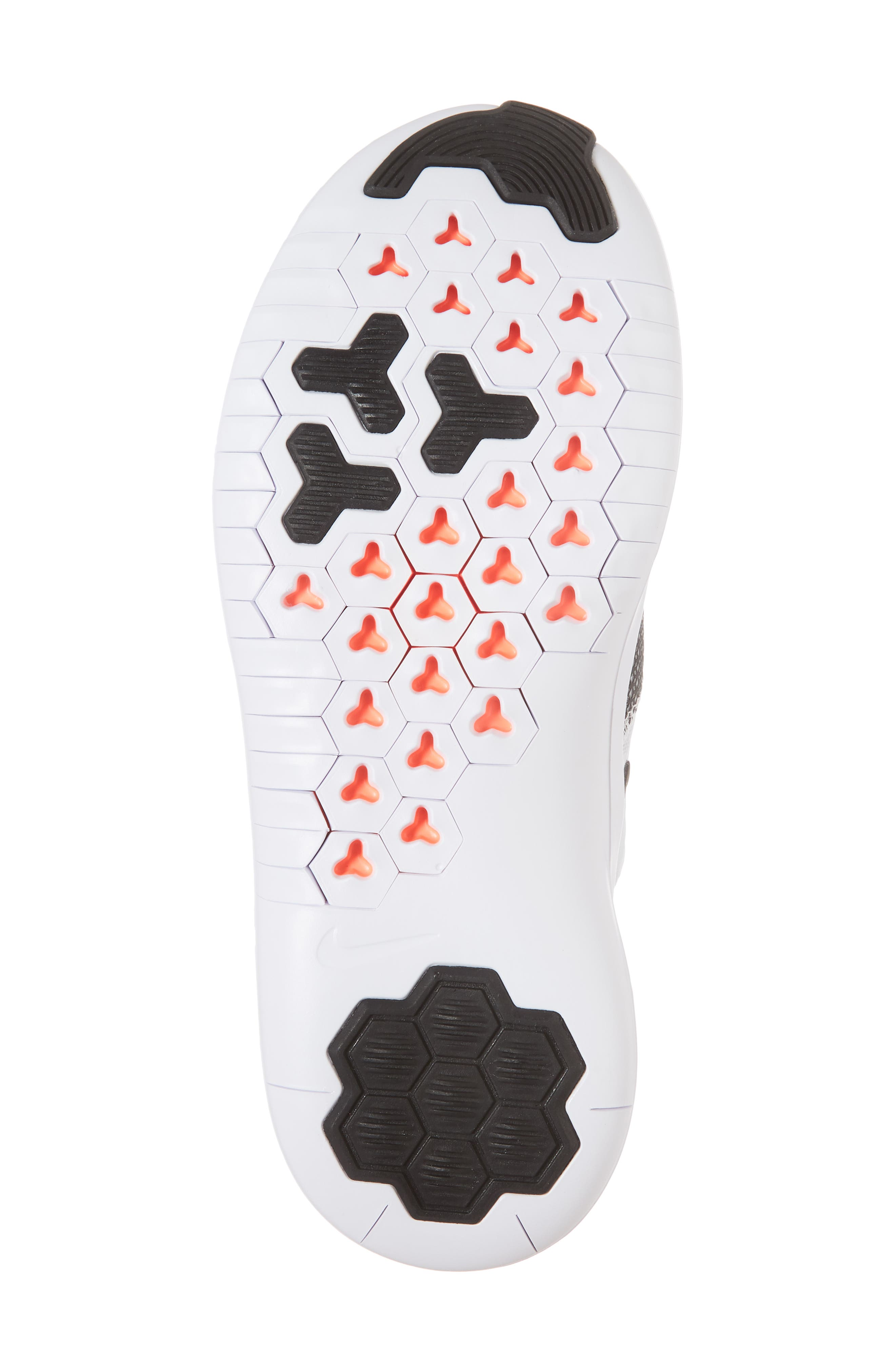 Free TR8 Training Shoe,                             Alternate thumbnail 6, color,                             WHITE/ BLACK/ TOTAL CRIMSON