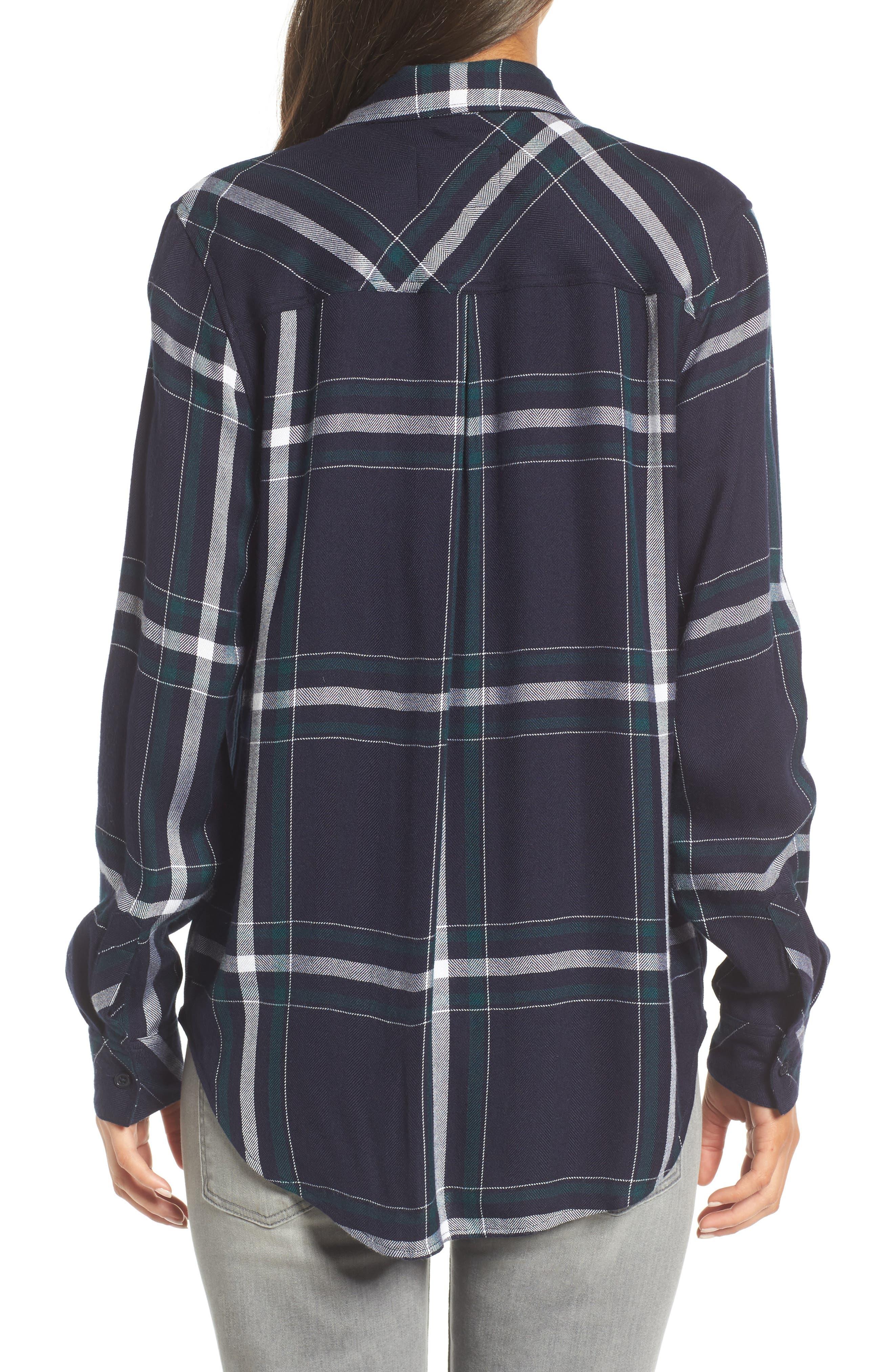 Hunter Plaid Shirt,                             Alternate thumbnail 260, color,