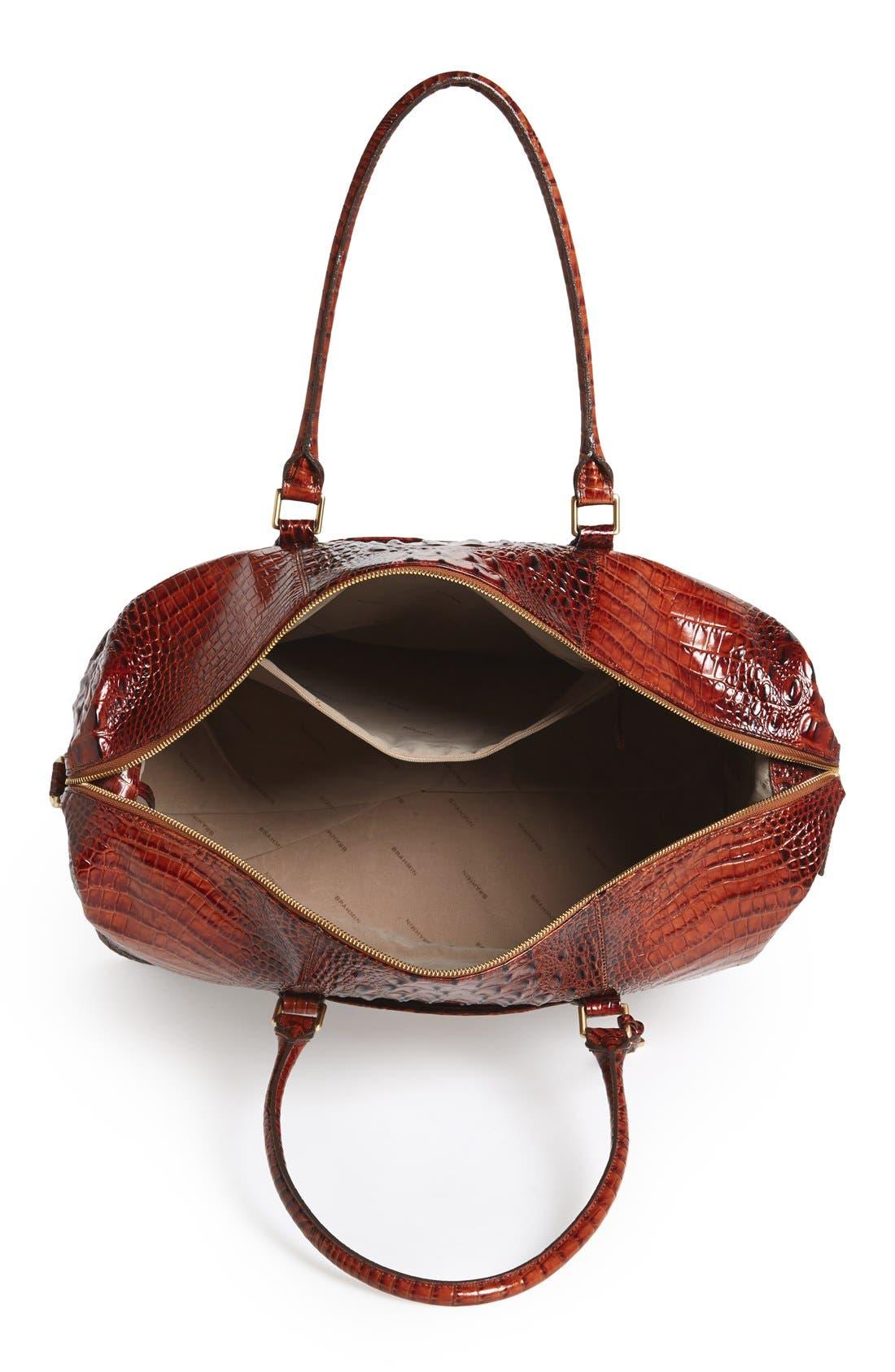 'Duxbury' Leather Travel Bag,                             Alternate thumbnail 15, color,