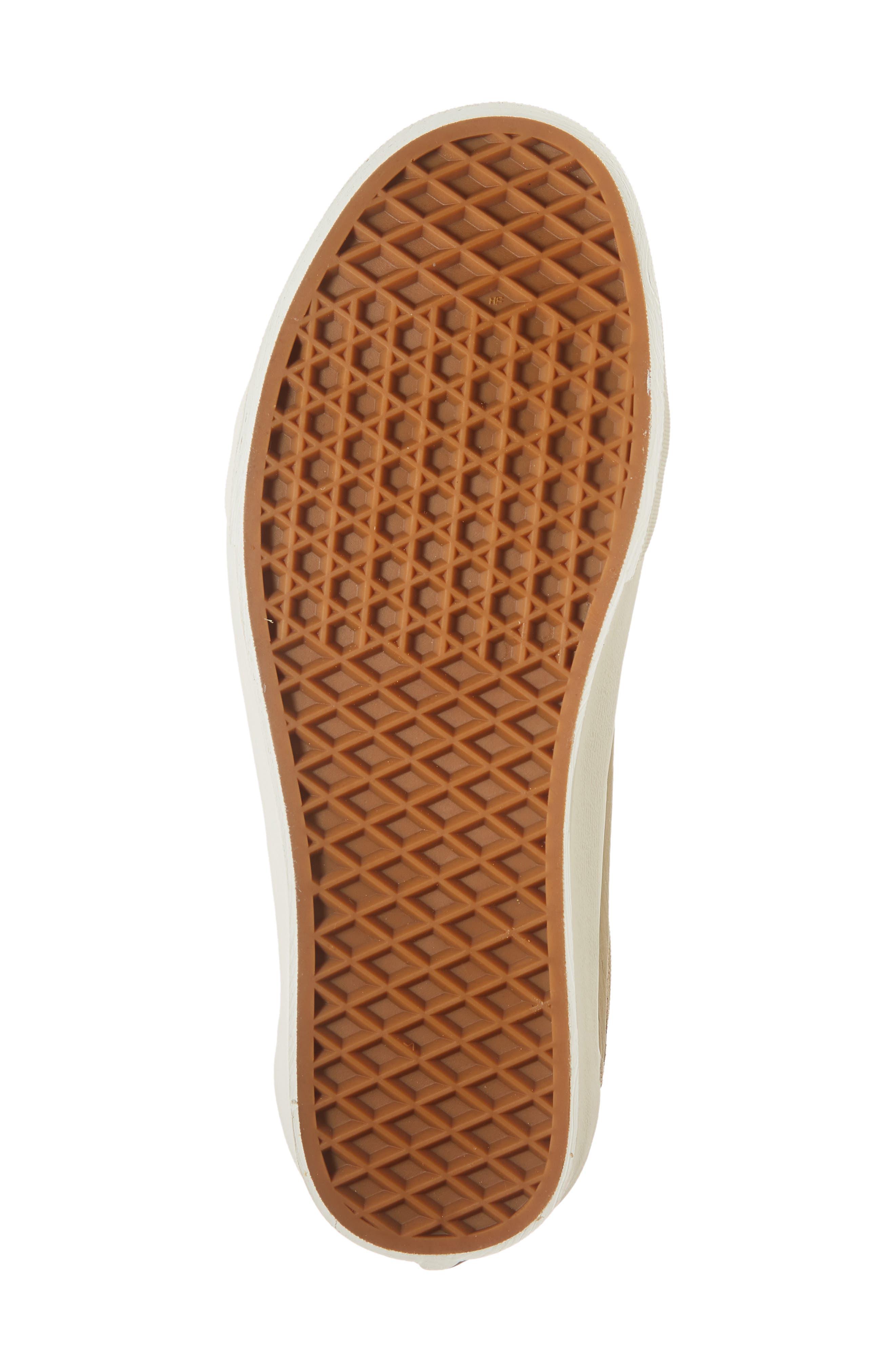 Old Skool V Sneaker,                             Alternate thumbnail 6, color,                             BEIGE CORNSTALK