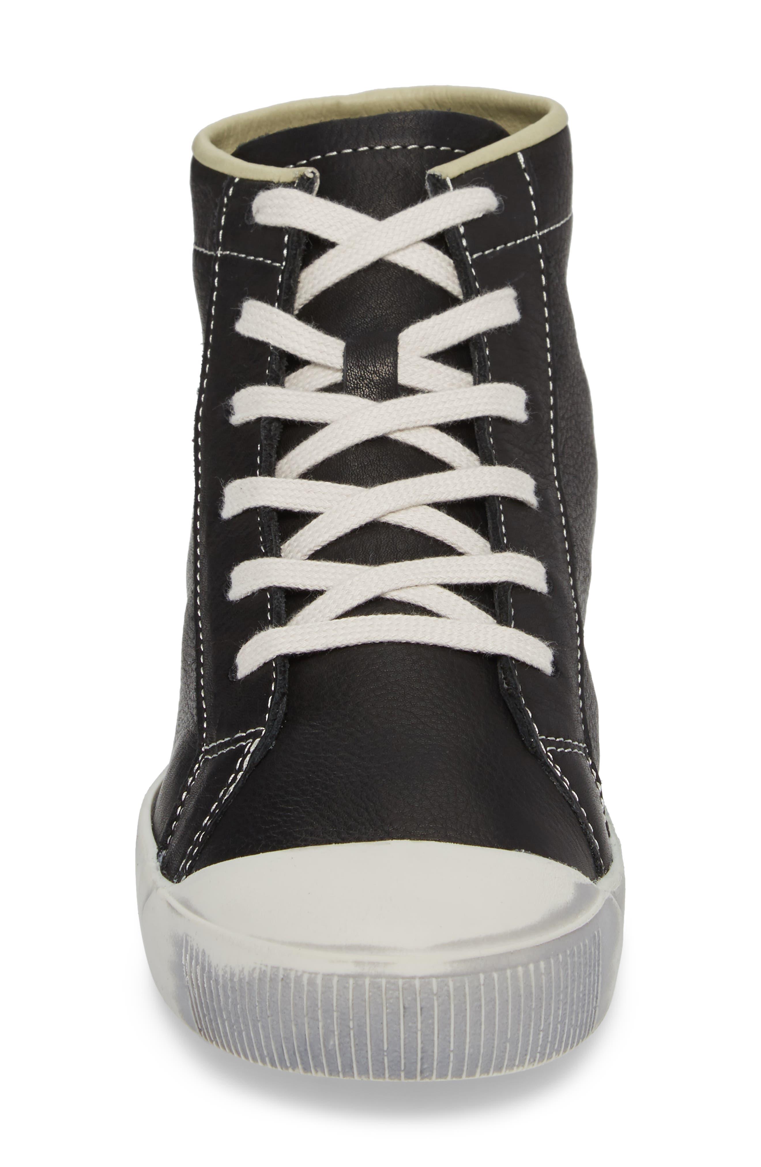 Kip High Top Sneaker,                             Alternate thumbnail 4, color,                             001