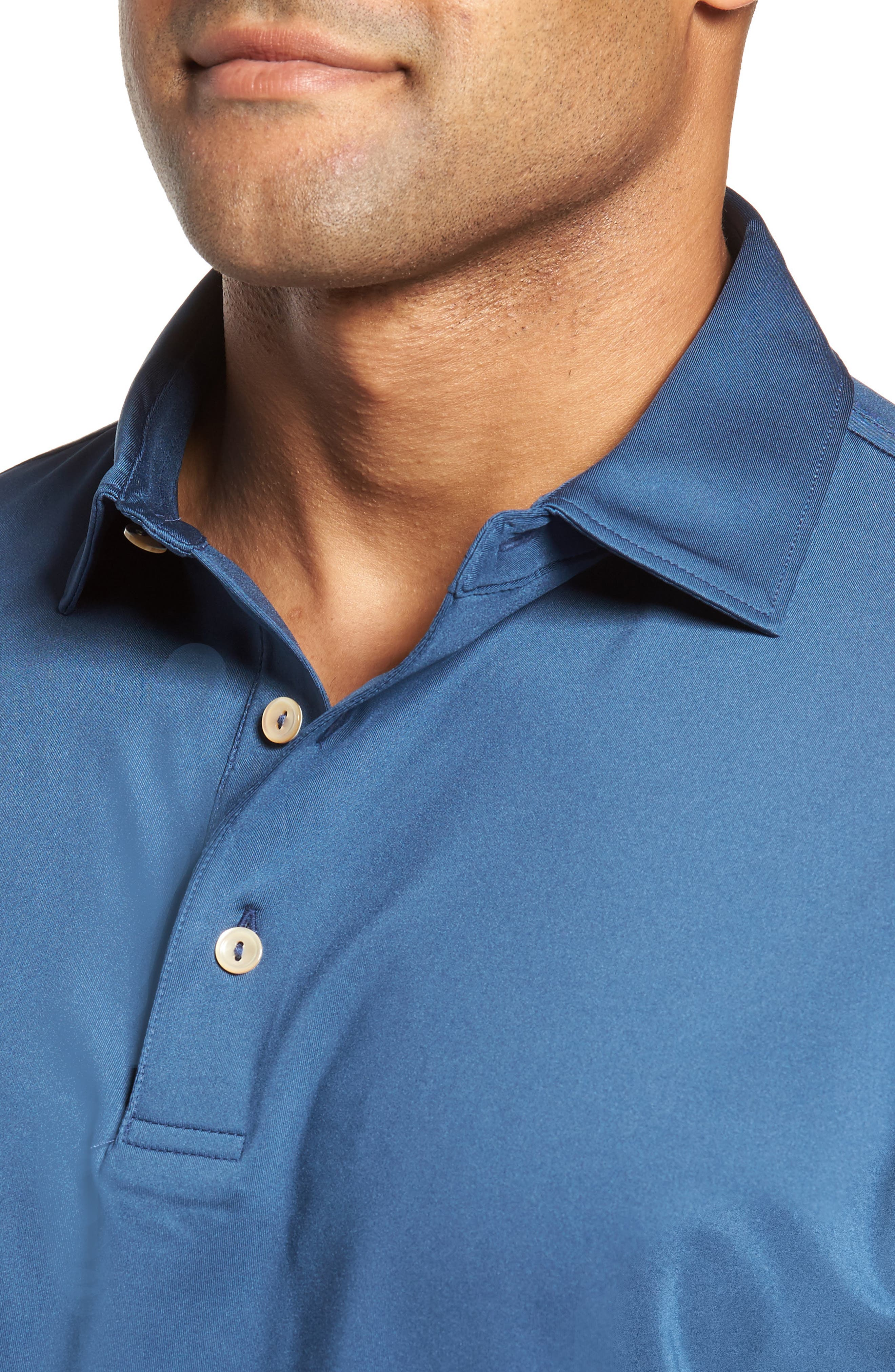 PETER MILLAR,                             Stretch Jersey Polo,                             Alternate thumbnail 4, color,                             402