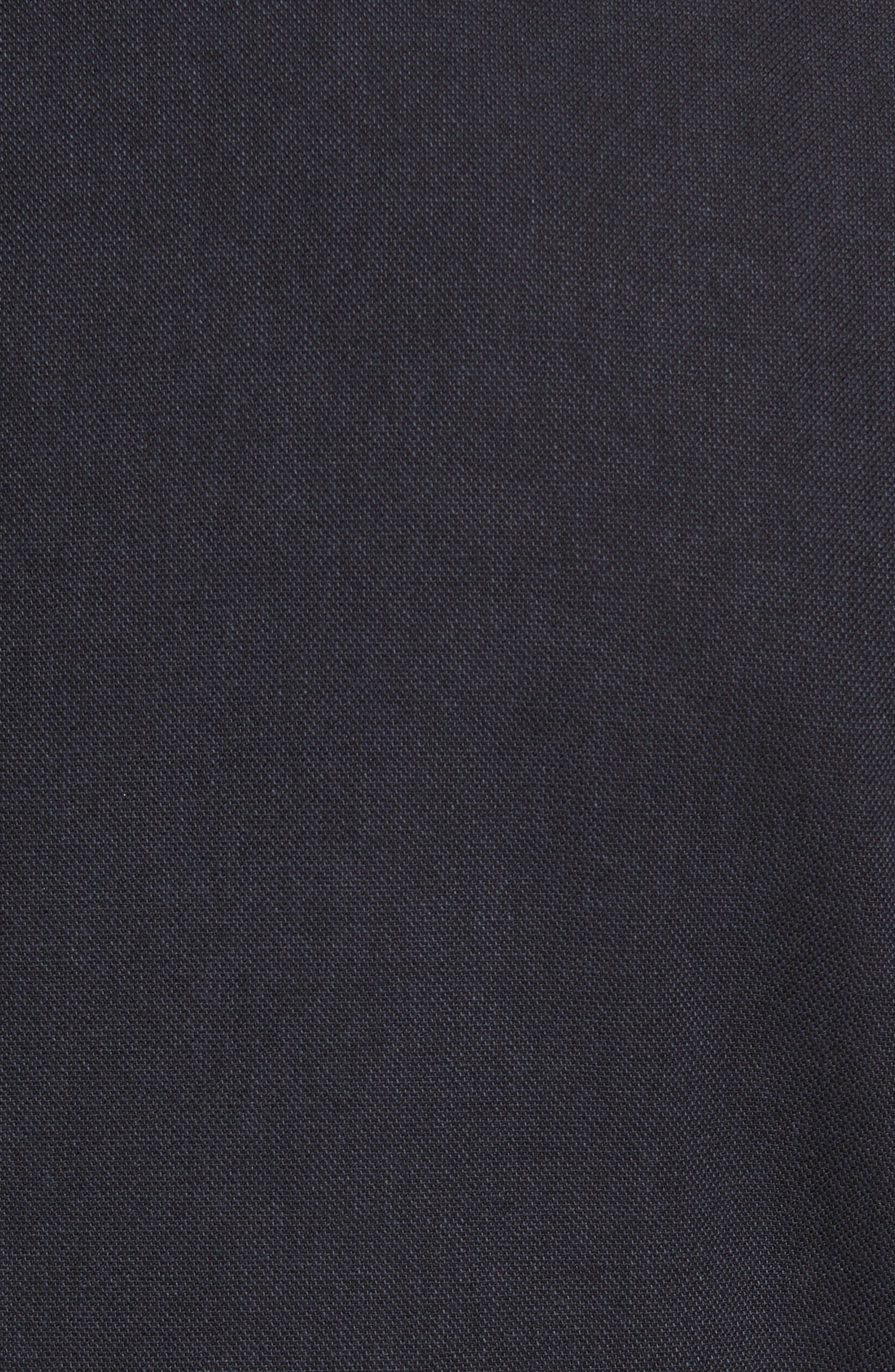 Classic Fit Cotton Blend Blazer,                             Alternate thumbnail 6, color,                             001