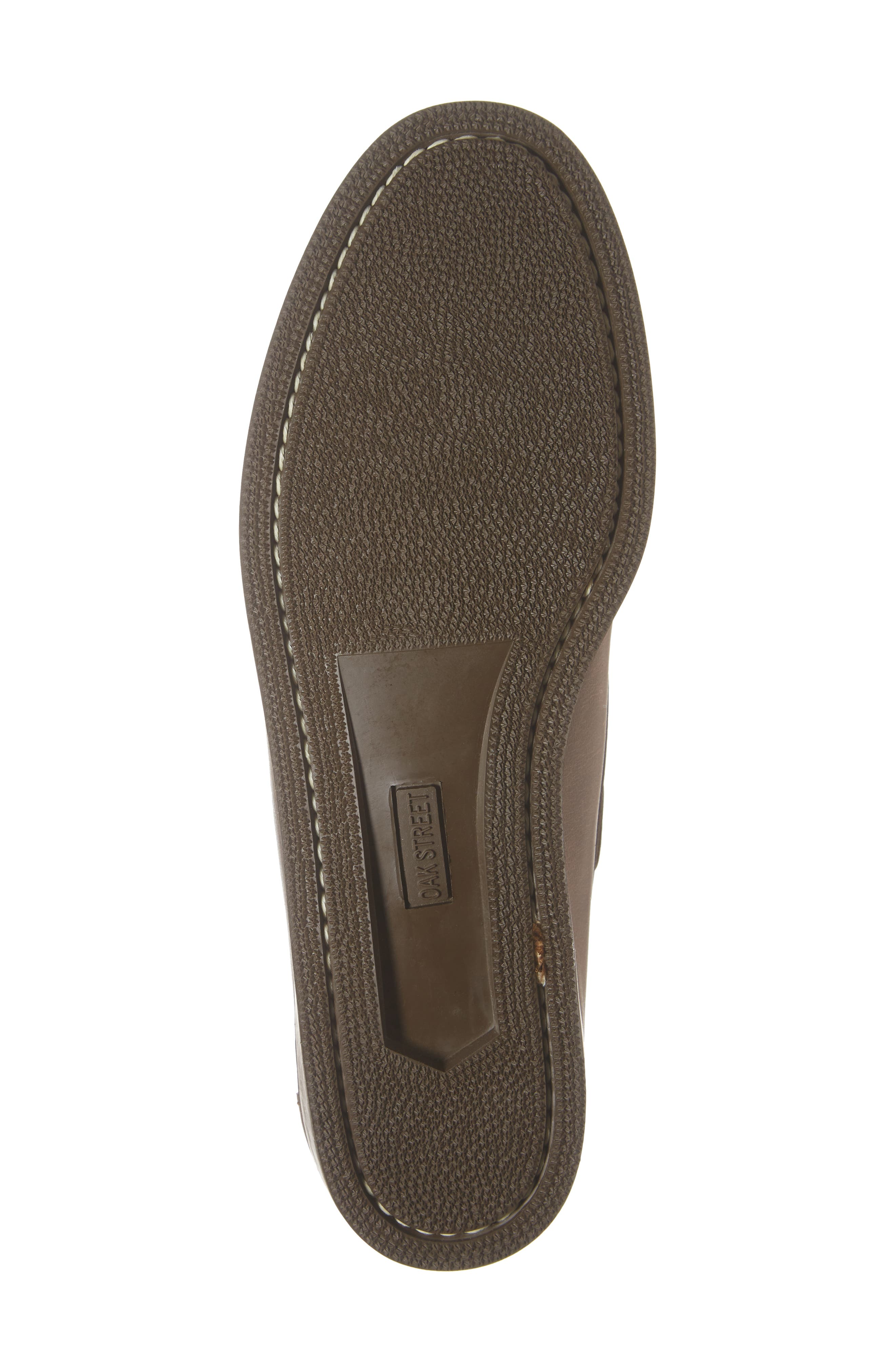 Camp Moccasin,                             Alternate thumbnail 6, color,                             NATURAL LEATHER