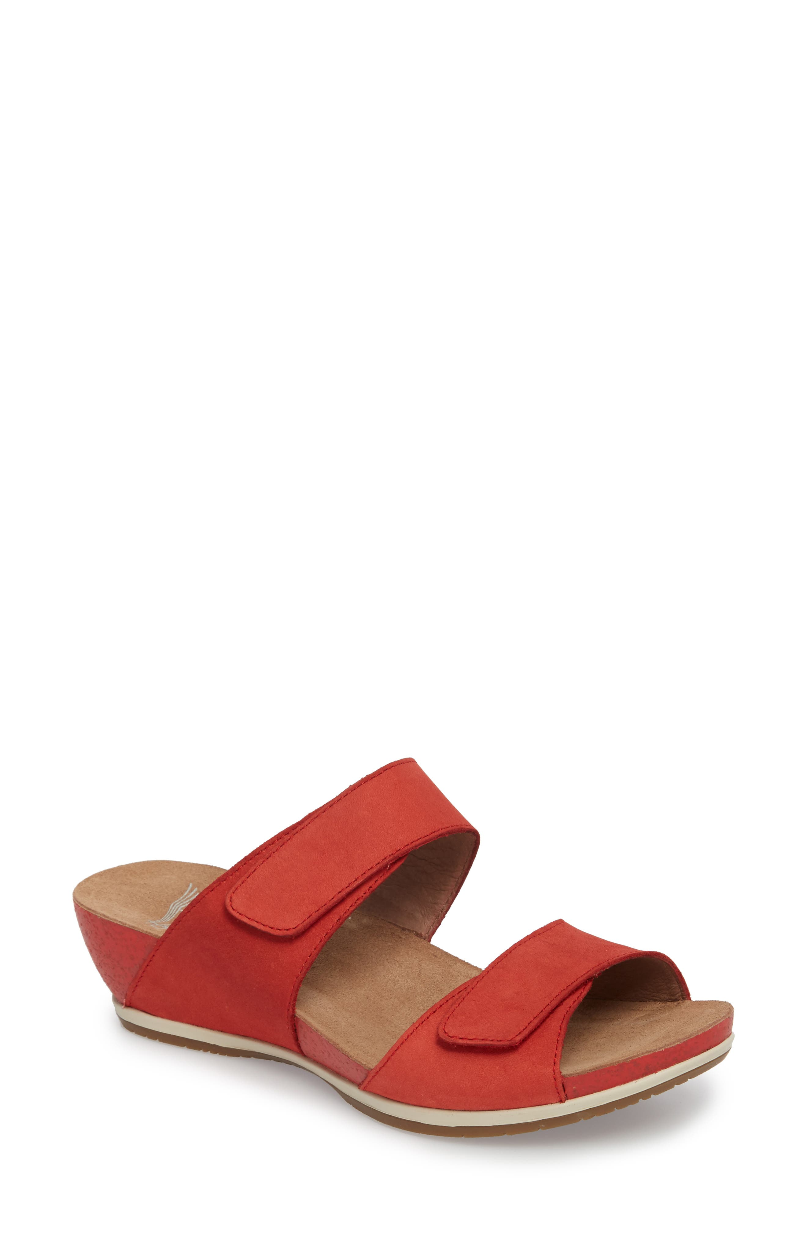 Vienna Slide Sandal,                             Main thumbnail 4, color,