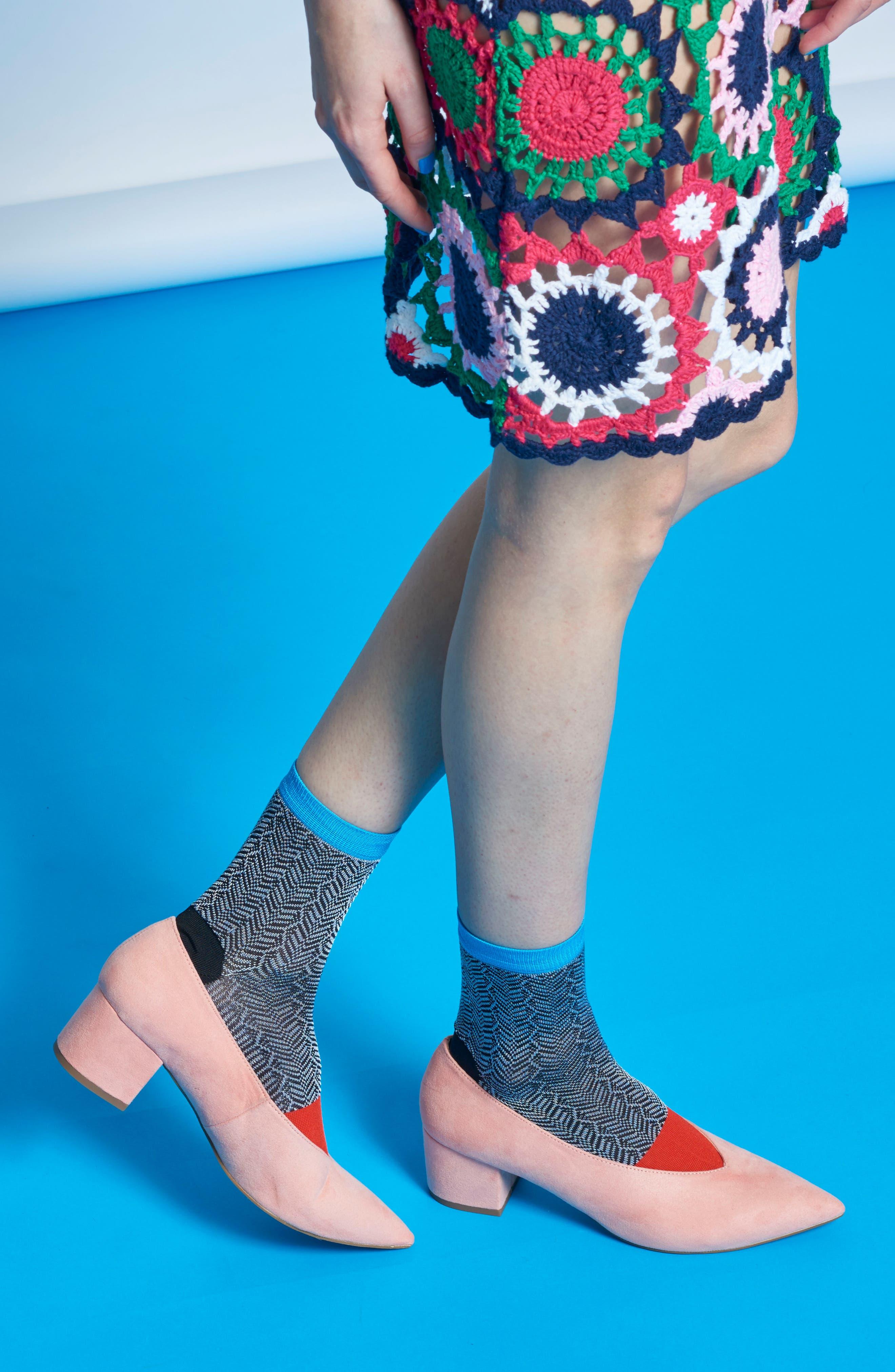 Jill Ankle Socks,                             Alternate thumbnail 4, color,                             013