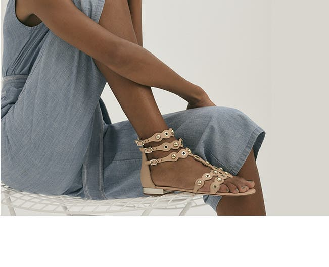The gladiator sandal.