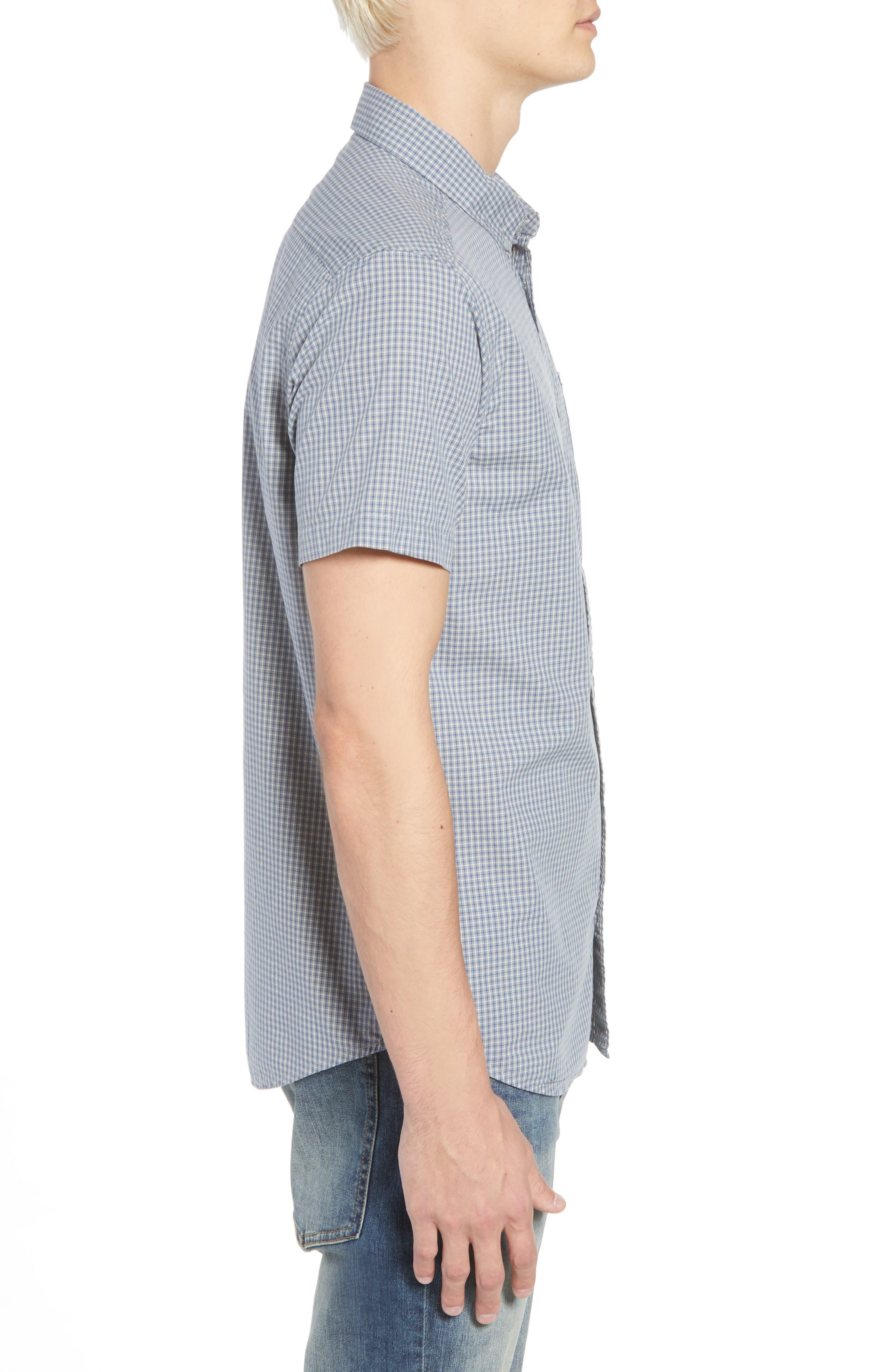 Staple Woven Shirt,                             Alternate thumbnail 3, color,                             026