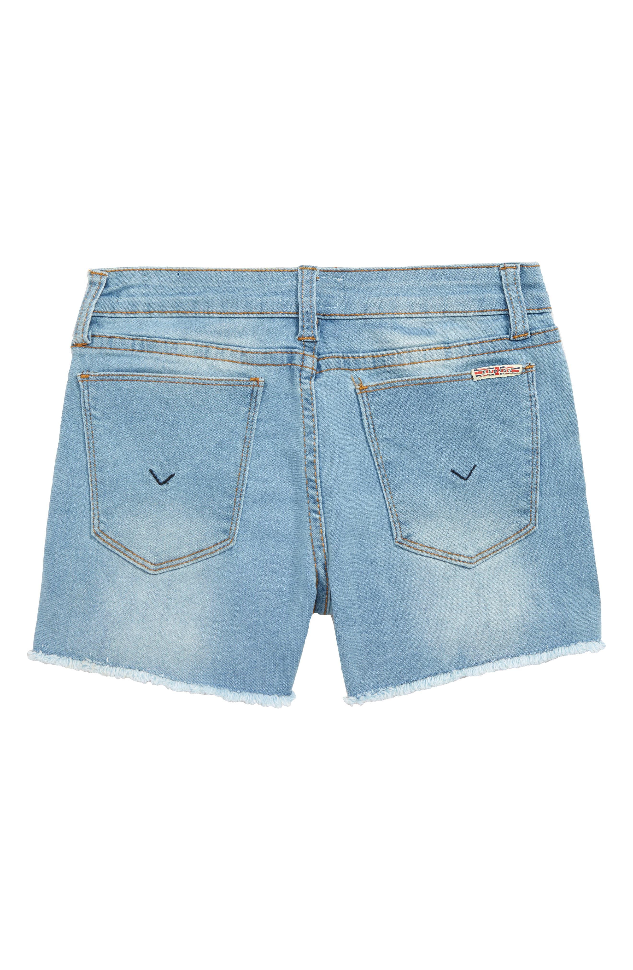 Frayed Shorts,                             Alternate thumbnail 2, color,                             SUNWASHED